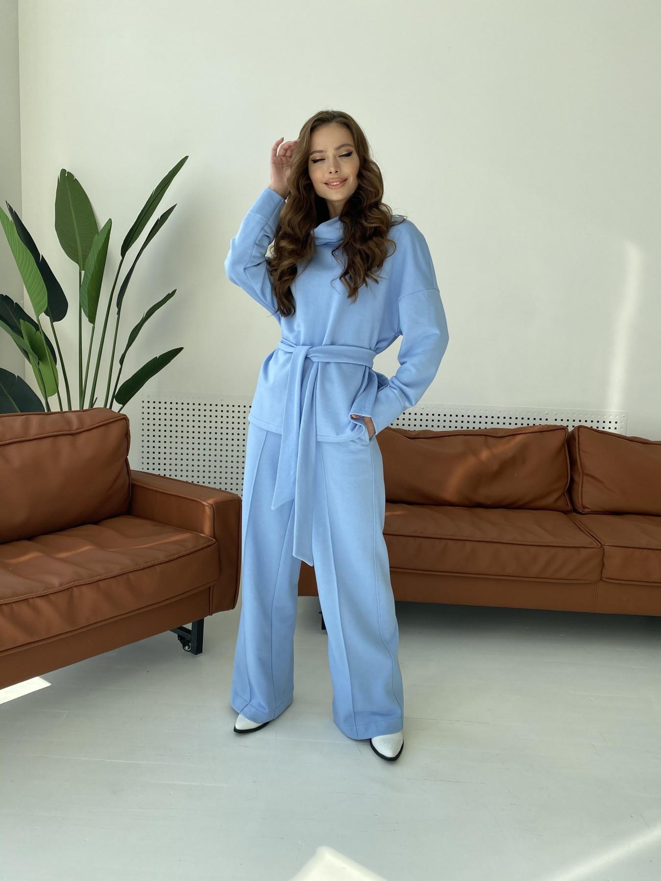 Джаст костюм Oversize  3х нитка 10564 АРТ. 47245 Цвет: Голубой - фото 1, интернет магазин tm-modus.ru