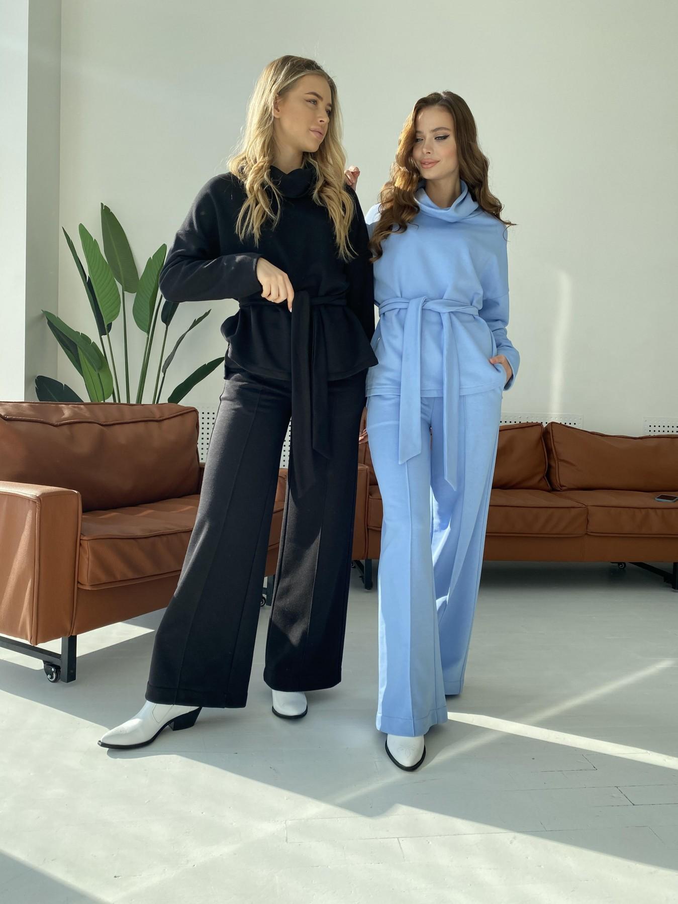 Джаст костюм Oversize  3х нитка 10564 АРТ. 47245 Цвет: Голубой - фото 7, интернет магазин tm-modus.ru