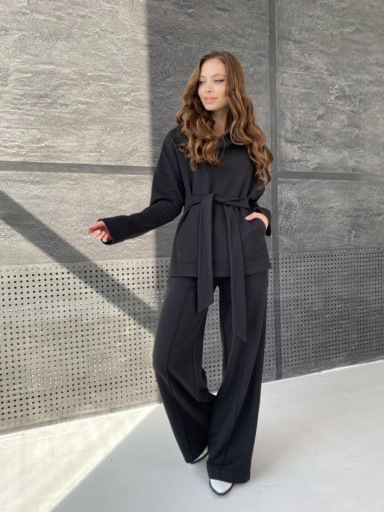 Кристиан костюм 3х нитка 10676 АРТ. 47247 Цвет: Черный - фото 1, интернет магазин tm-modus.ru