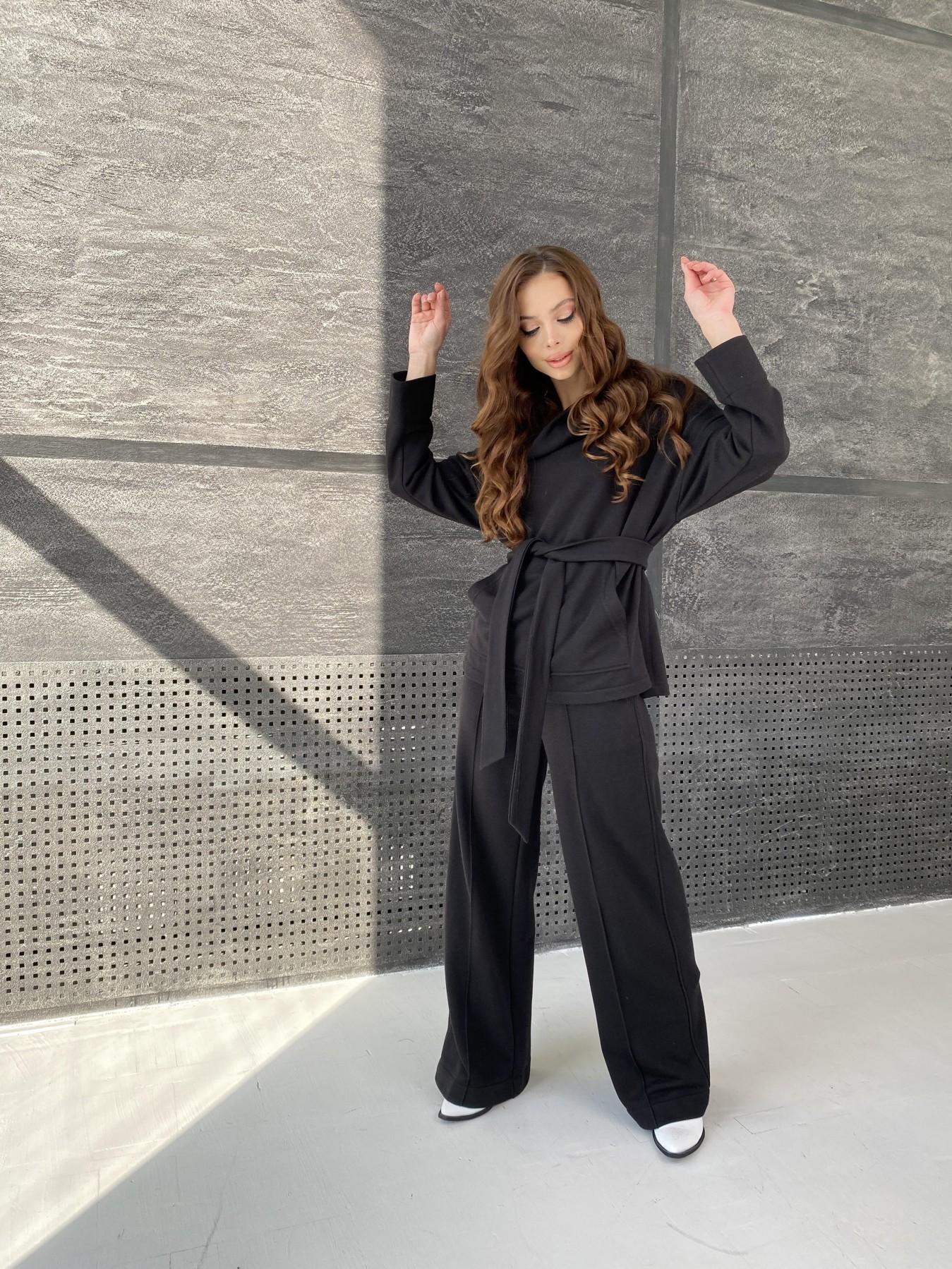 Кристиан костюм 3х нитка 10676 АРТ. 47247 Цвет: Черный - фото 3, интернет магазин tm-modus.ru