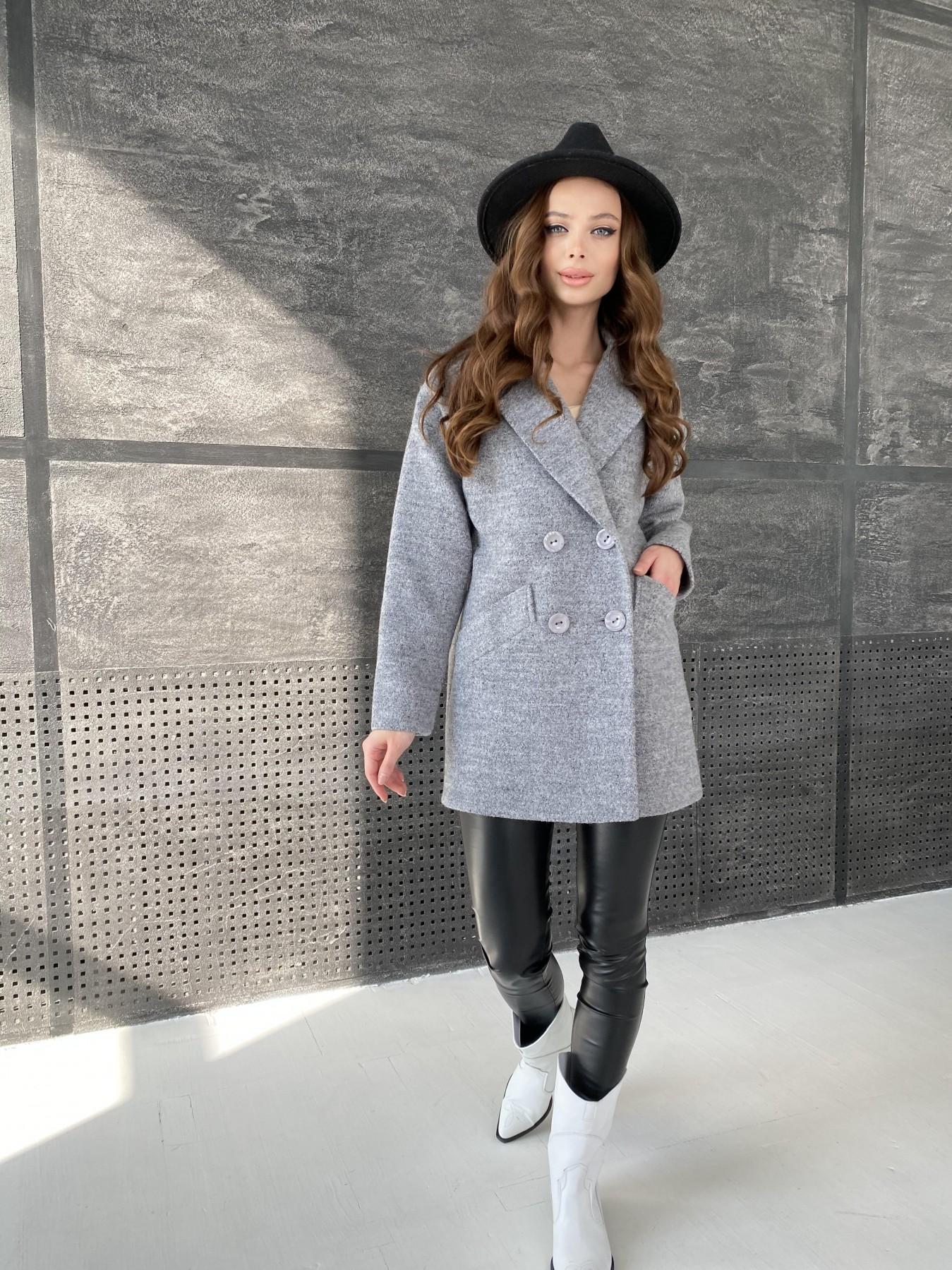 Женские демисезонные пальто производитель Харьков Modus Бонд пальто из шерсти букле  10770