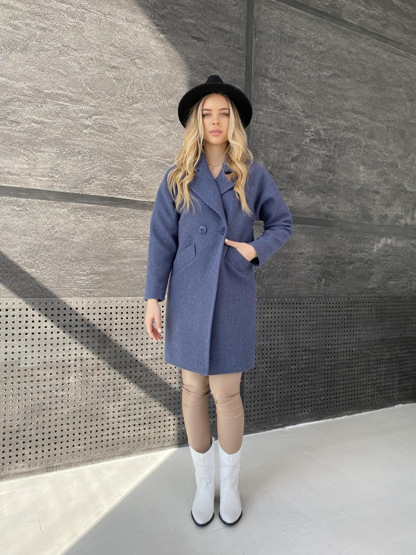 Купить демисезонное пальто от ТМ Modus Сенсей пальто из кашемира меланж  10745