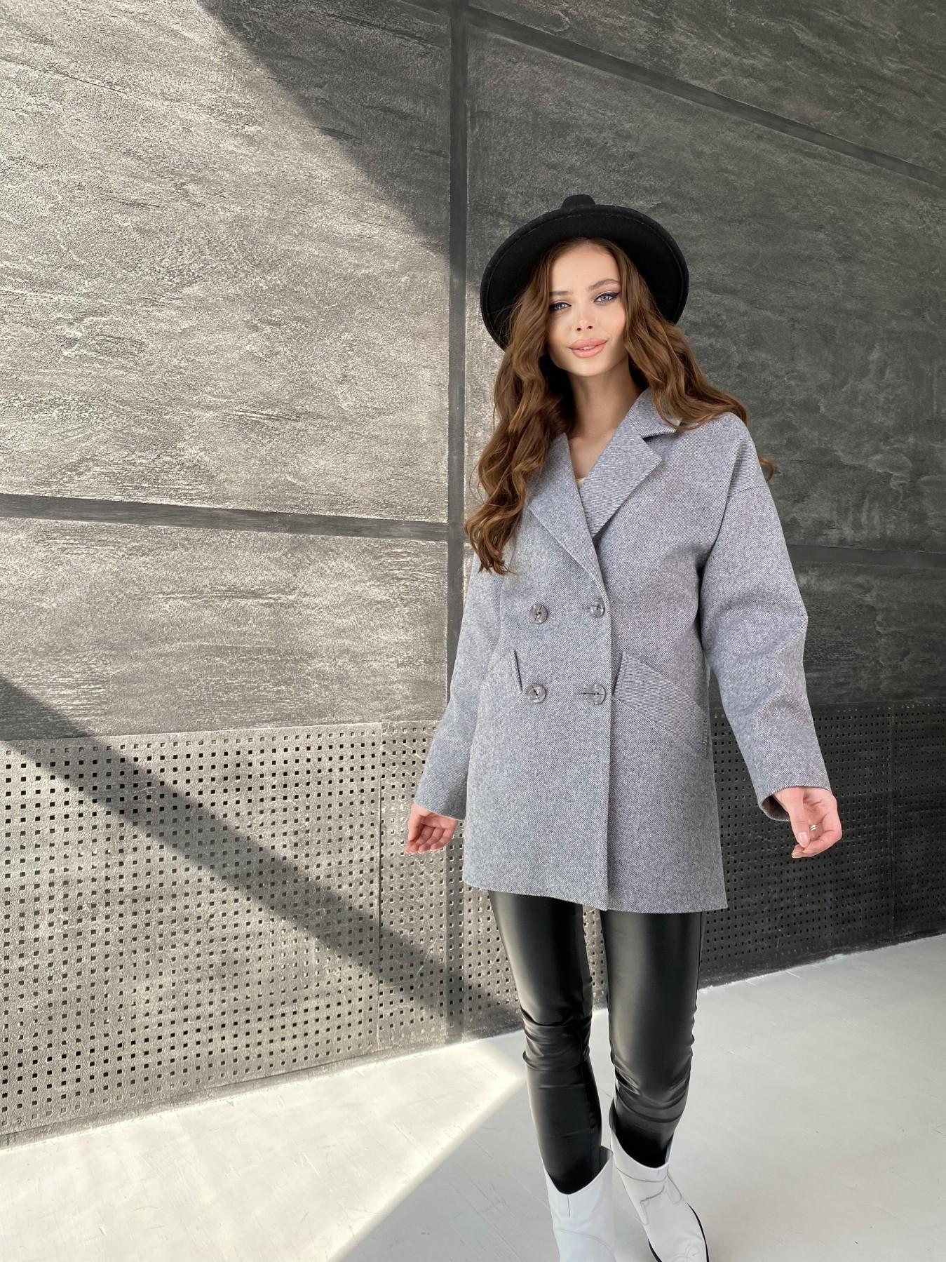 Демисезонное пальто от производителя Modus Бонд Диагональ пальто из пальтовой ткани  10757