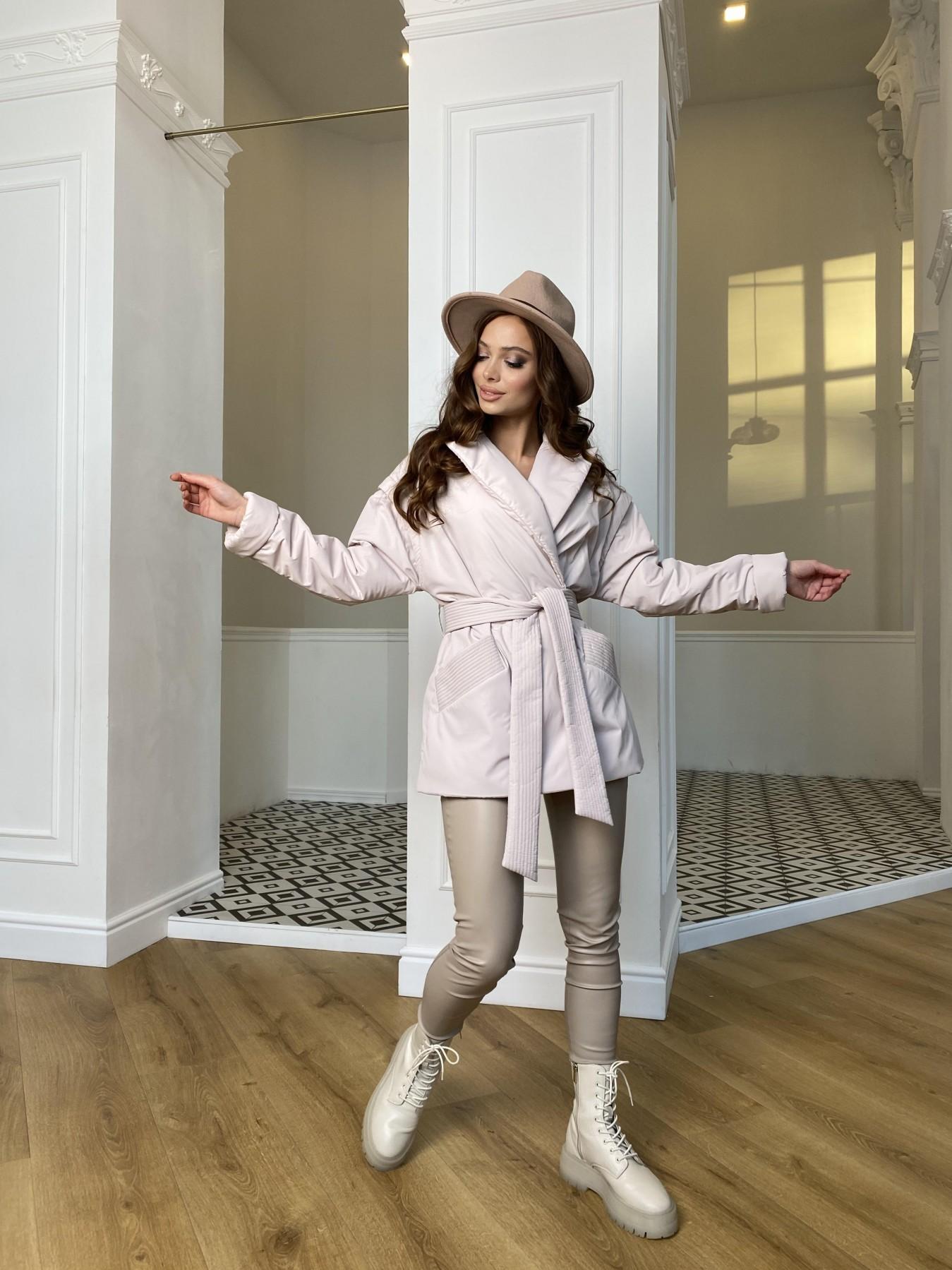 Форбс плащевка Ammy куртка 10817 АРТ. 47298 Цвет: Молоко - фото 7, интернет магазин tm-modus.ru