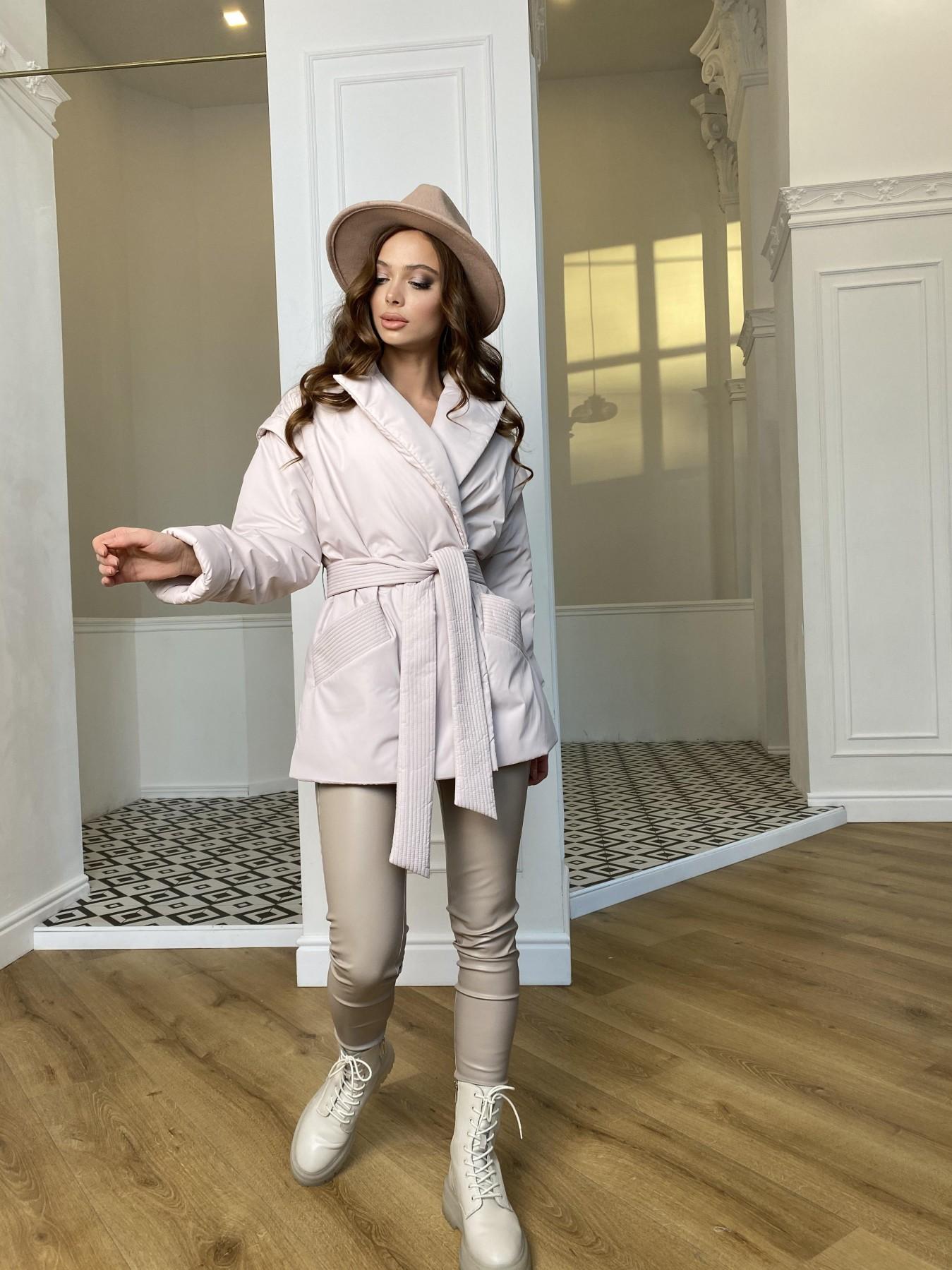 Форбс плащевка Ammy куртка 10817 АРТ. 47298 Цвет: Молоко - фото 8, интернет магазин tm-modus.ru