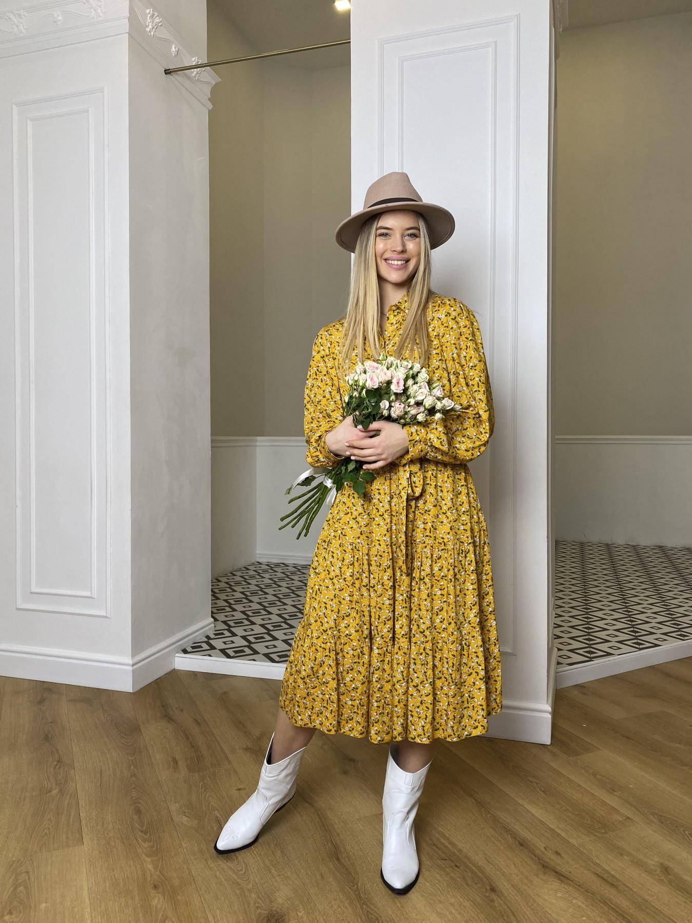 Платье оптом от производителя Modus Лилия платье штапель в принт 10879