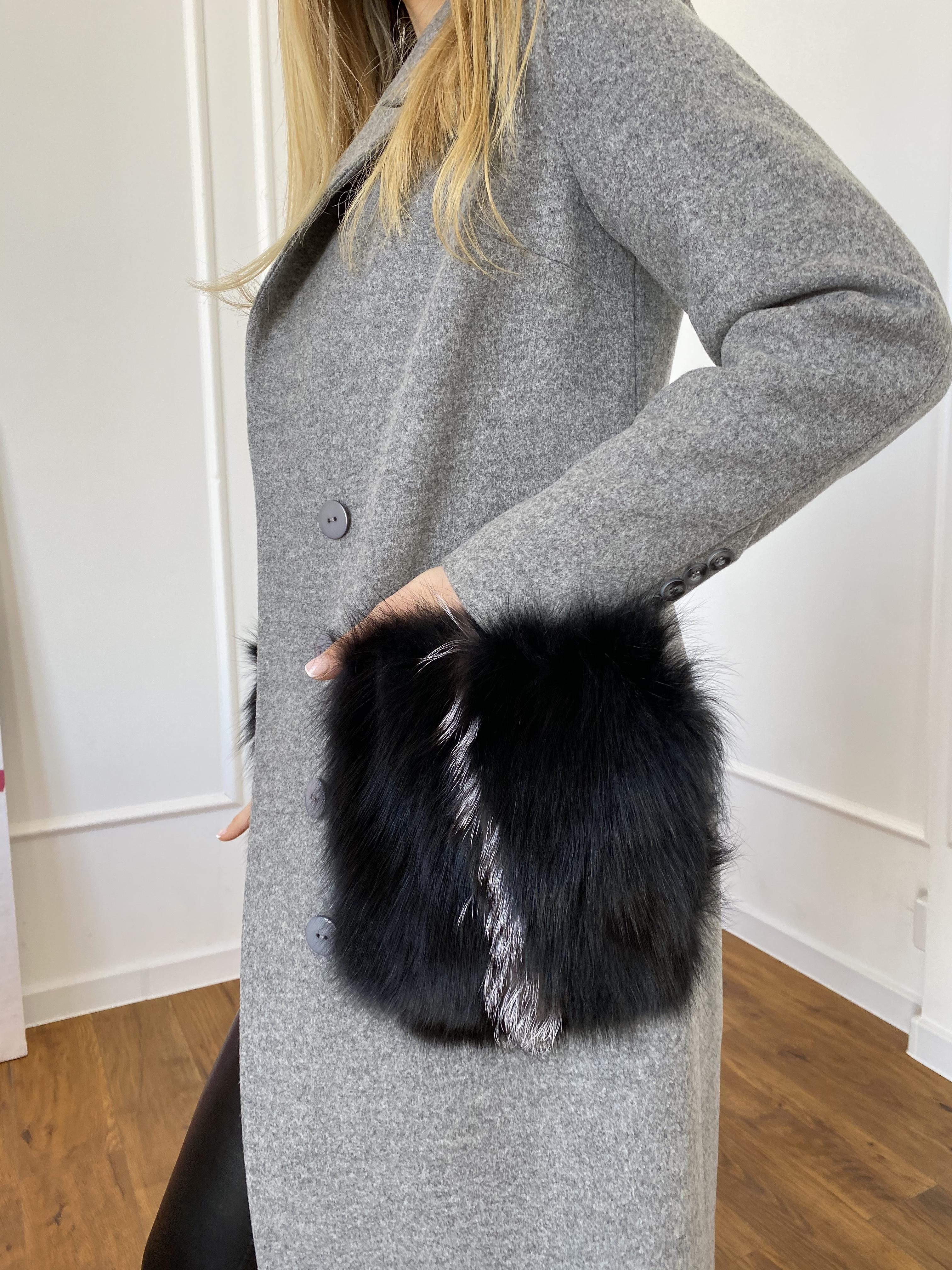 Пальто Батида 8528 АРТ. 44849 Цвет: Серый - фото 5, интернет магазин tm-modus.ru
