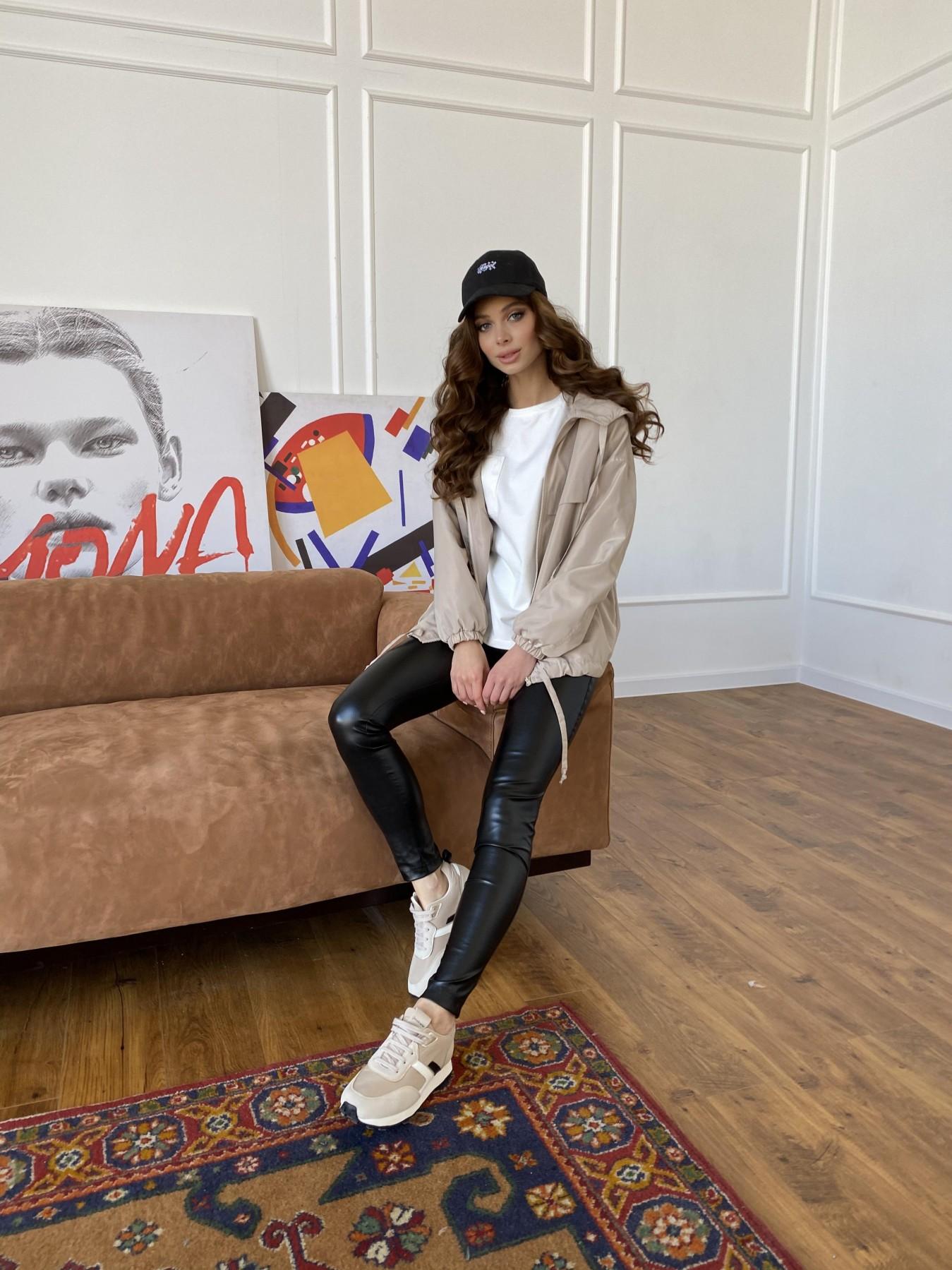Фит куртка из плащевки Ammy 10971 АРТ. 47466 Цвет: Бежевый - фото 7, интернет магазин tm-modus.ru