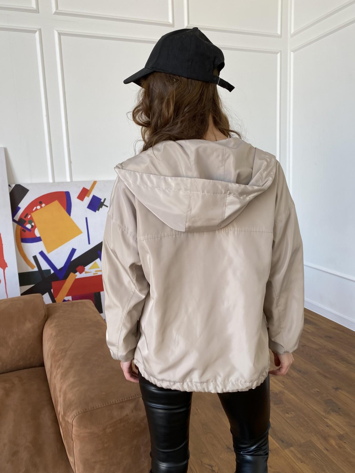Фит куртка из плащевки Ammy 10971 АРТ. 47466 Цвет: Бежевый - фото 9, интернет магазин tm-modus.ru