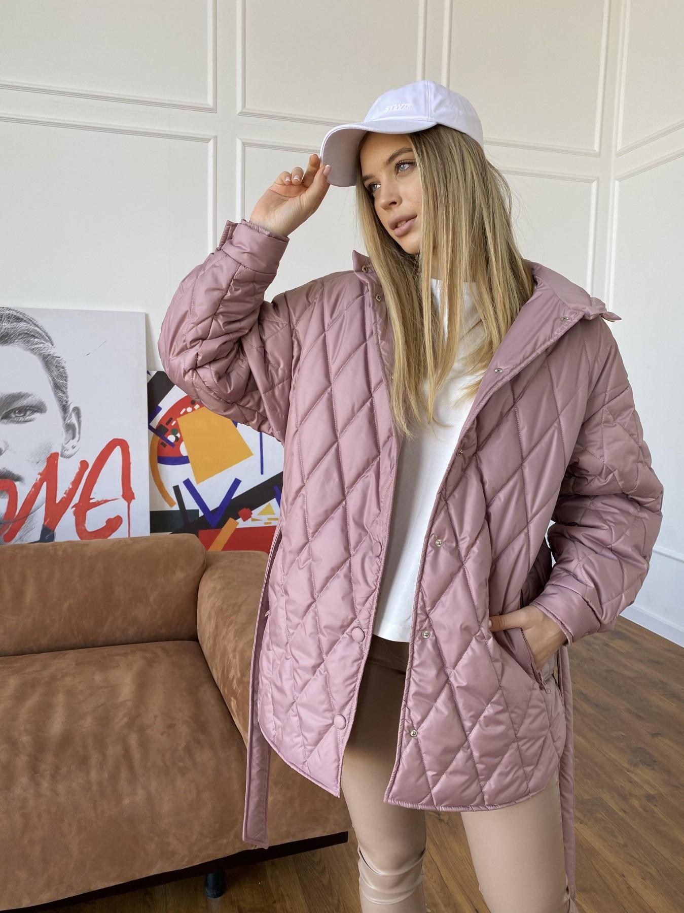 демисезонные куртки Пазл стеганая куртка из плащевки 10890