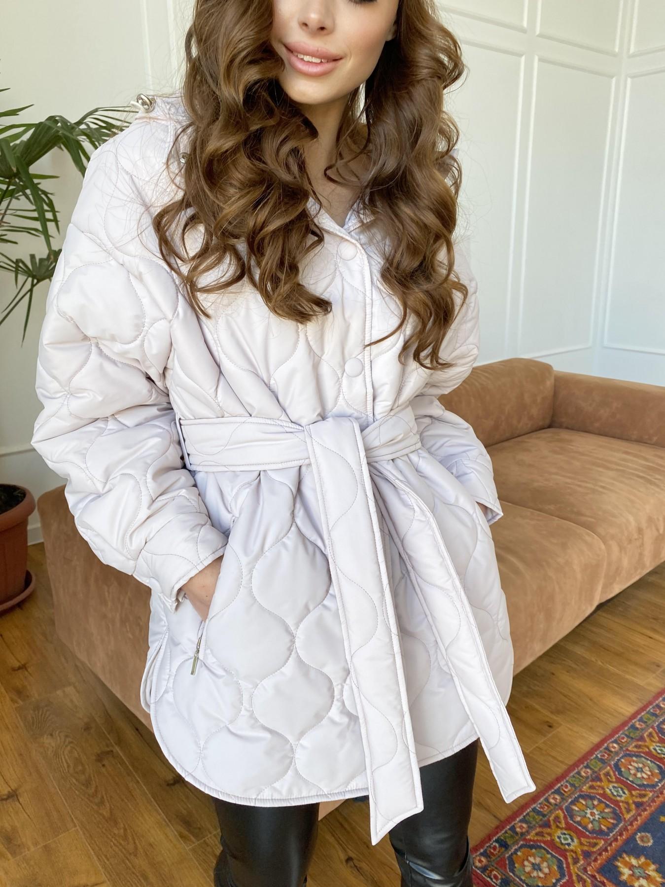Пазл ЗИГЗАГ  стеганая куртка из плащевой ткани Ammy 10979 АРТ. 47471 Цвет: Бежевый 970 - фото 12, интернет магазин tm-modus.ru