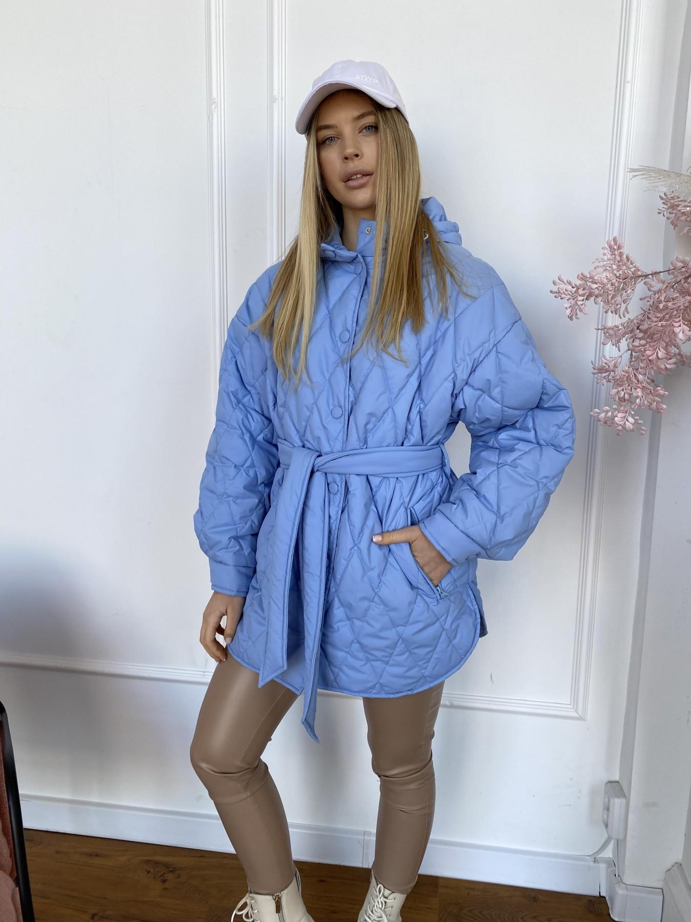 куртки демисезонные женские Украина Пазл стеганая куртка из плащевки 10890