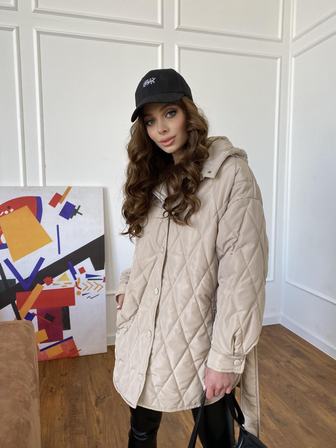 куртки оптом Харьков Пазл стеганая куртка из плащевки 10890
