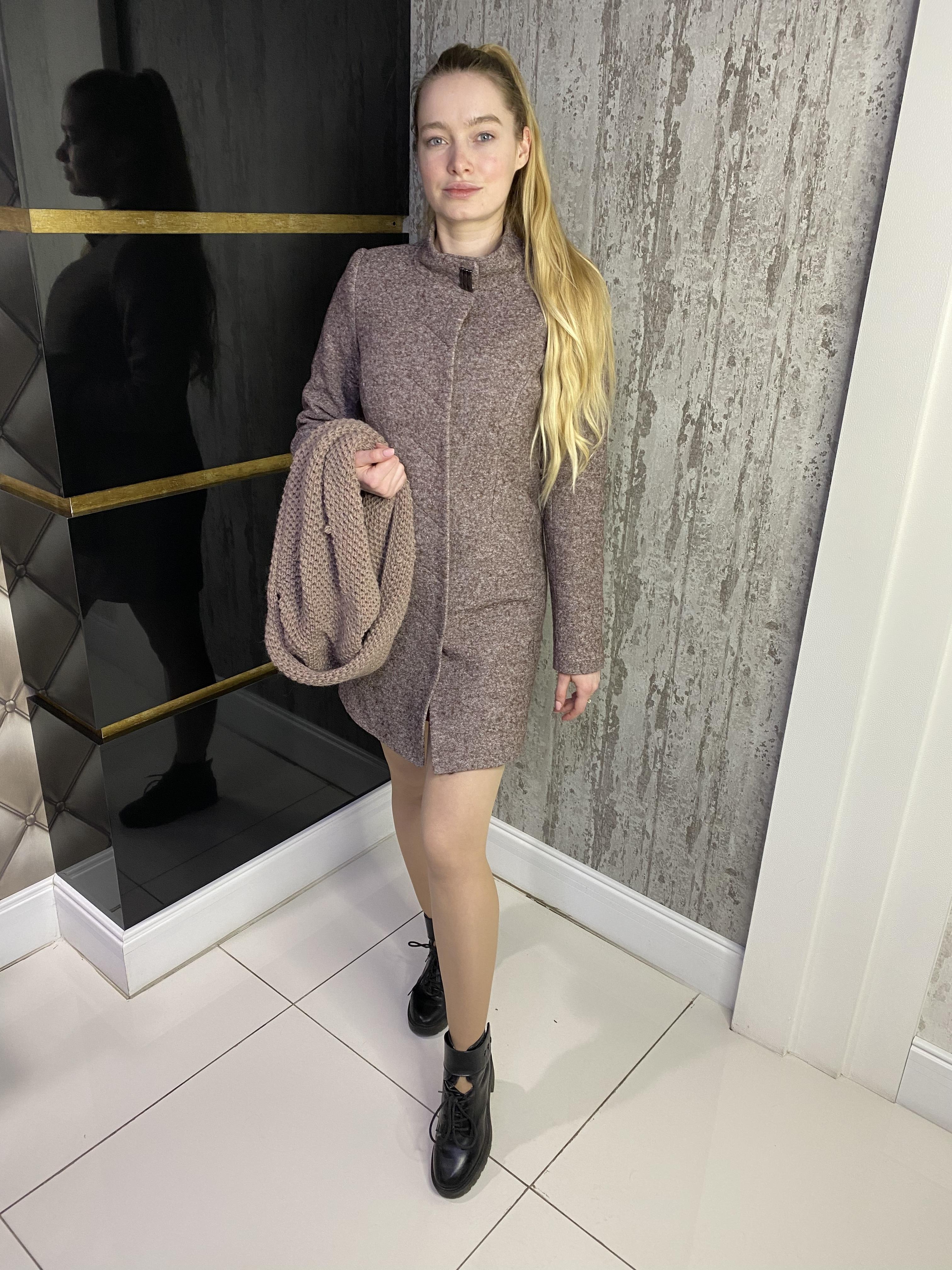 Купить пальто оптом от Modus Пальто Сплит 4205
