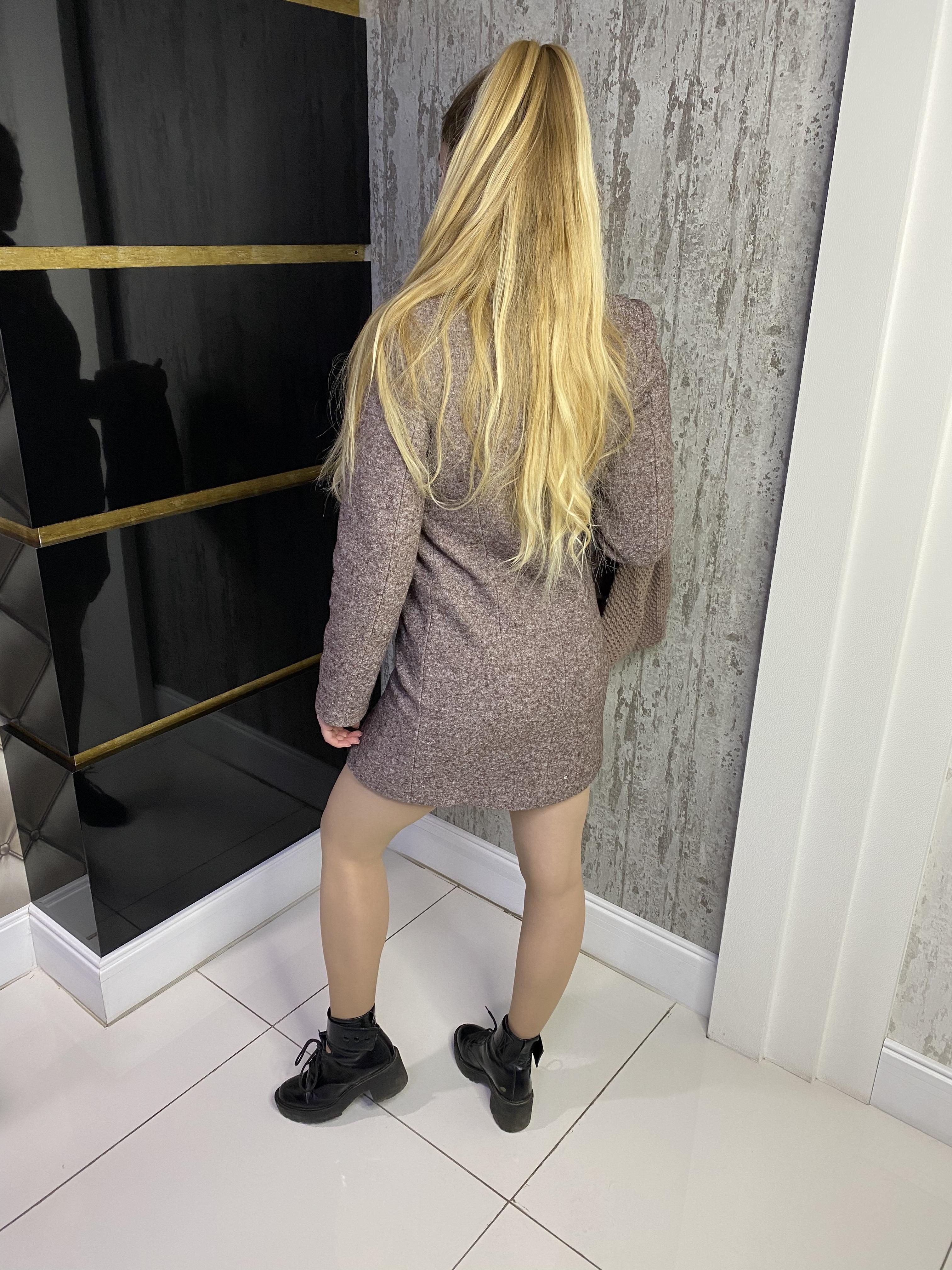 Пальто Сплит 4205 АРТ. 21046 Цвет: Кофе LW-4 - фото 2, интернет магазин tm-modus.ru