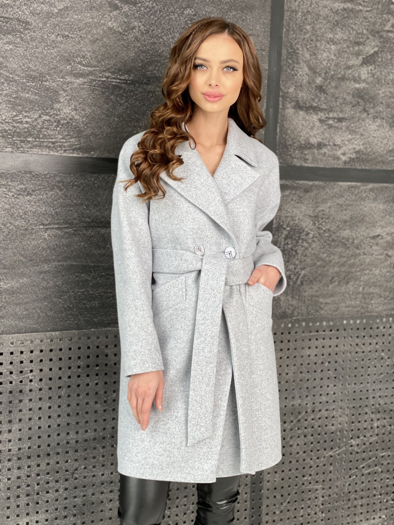 Купить пальто женское демисезонное от Modus Сенсей пальто из кашемира меланж  10745
