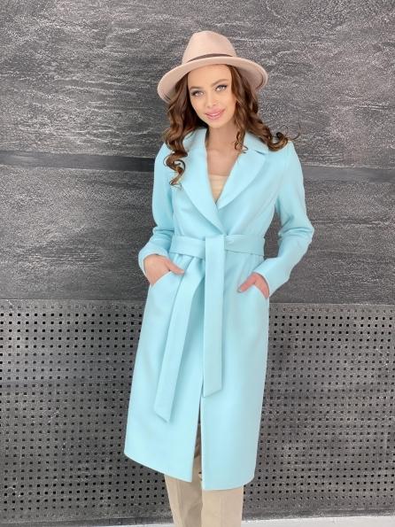 """Купить """"Мехико"""" пальто из кашемира 9026 оптом и в розницу"""