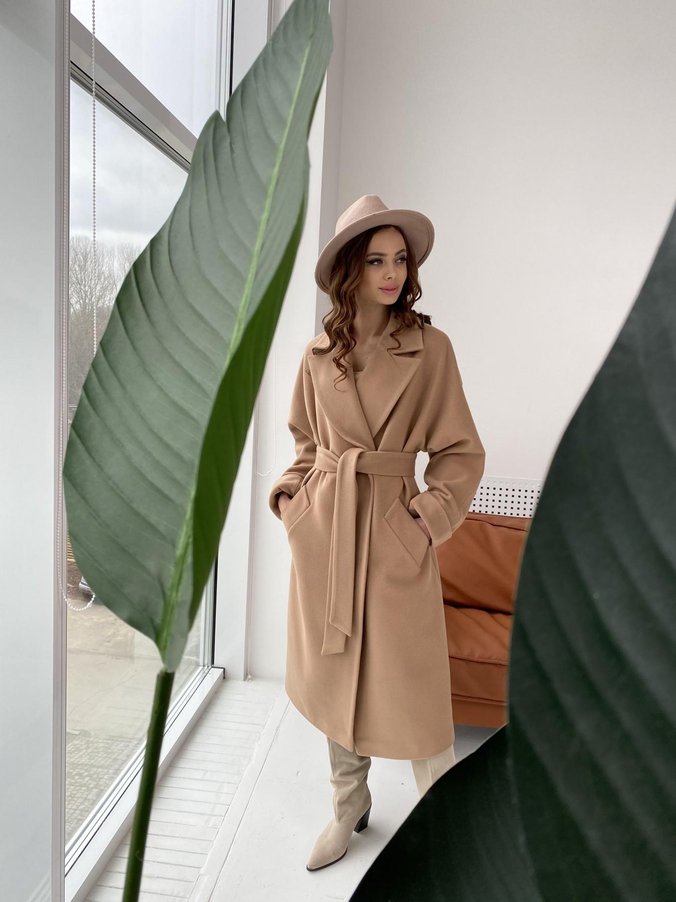 Влада пальто демисезонное из кашемира  10541 АРТ. 46895 Цвет: Кемел - фото 5, интернет магазин tm-modus.ru