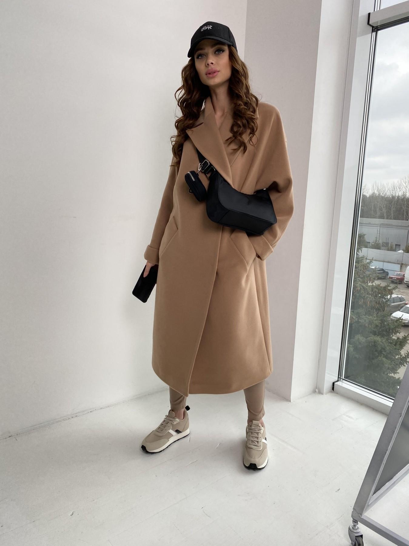 Влада пальто демисезонное из кашемира  10541 АРТ. 46895 Цвет: Кемел - фото 10, интернет магазин tm-modus.ru