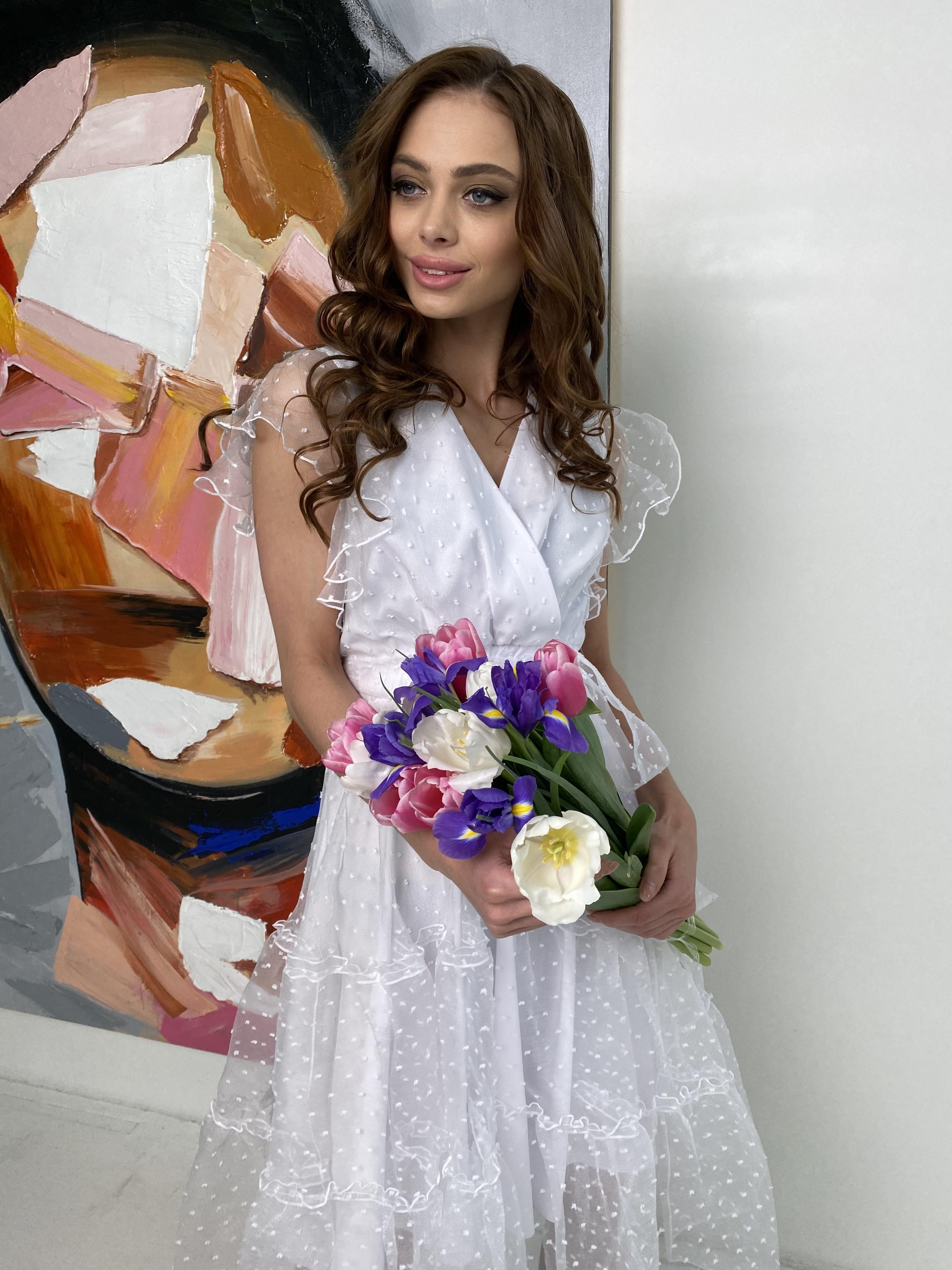 Женские платья оптом Манана платье из органзы  9101