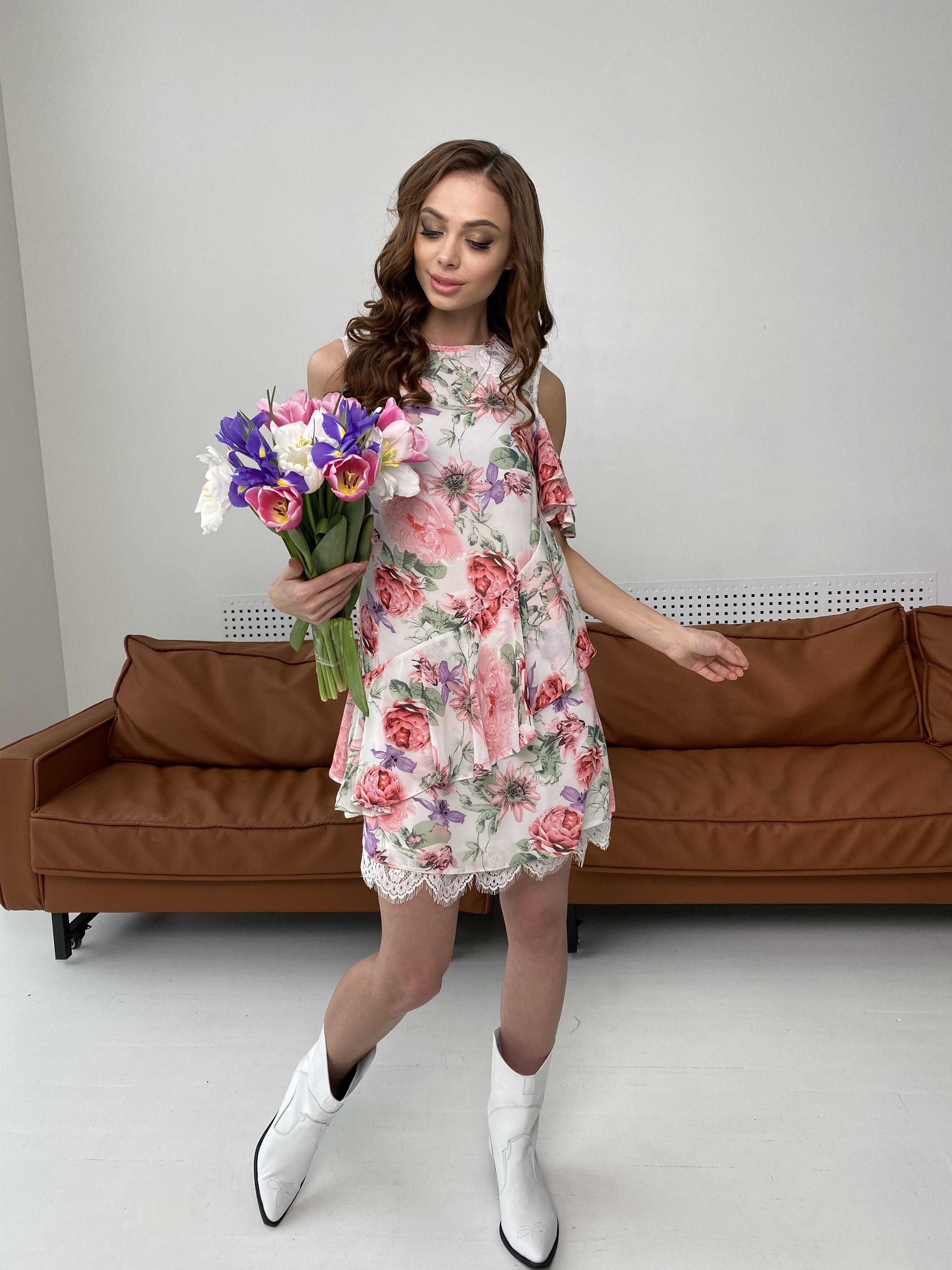 Купить платья в интернет магазине Вито платье из шифона 6945