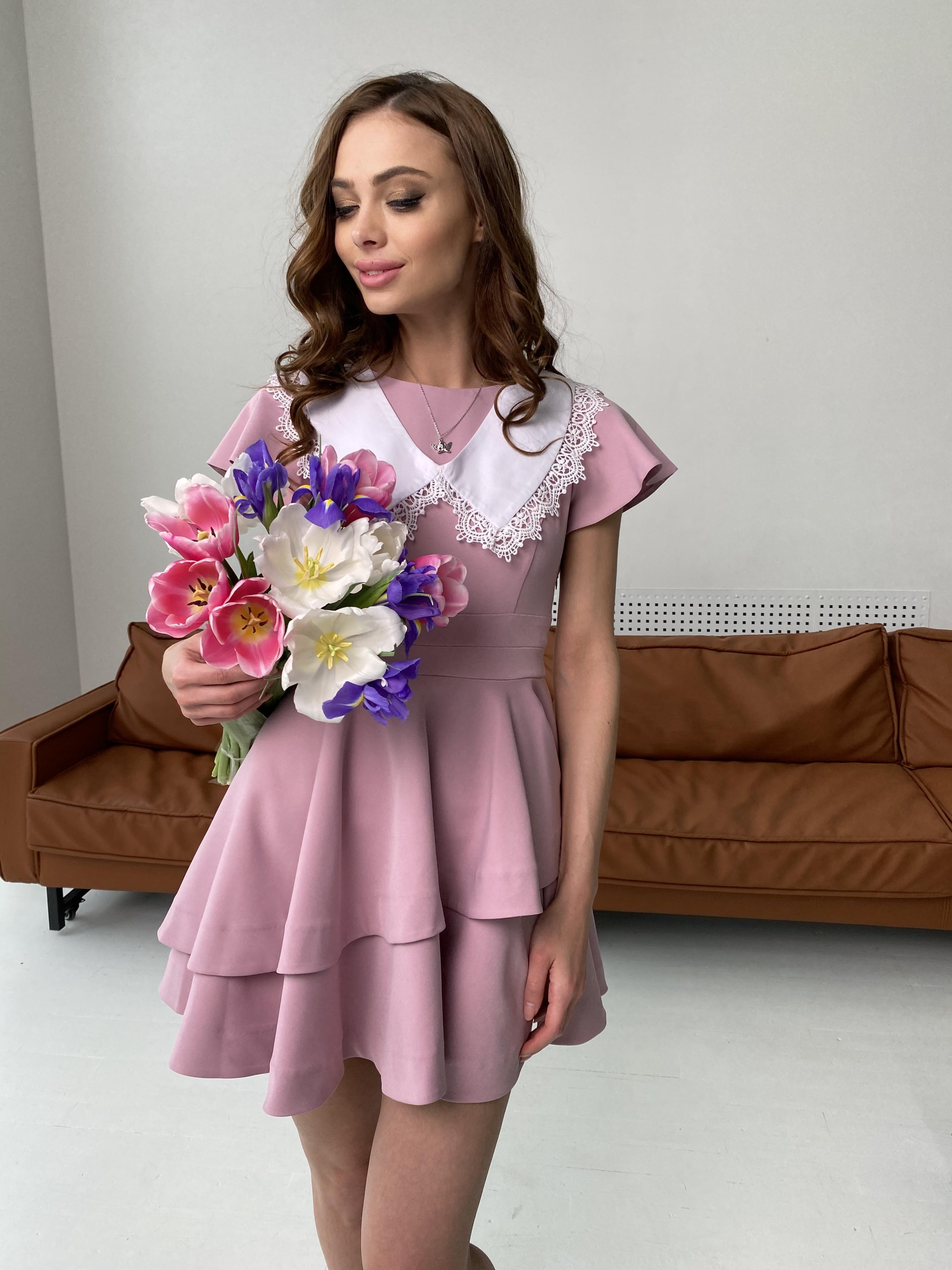 Симур платье  6888 Цвет: Пудра темная 20