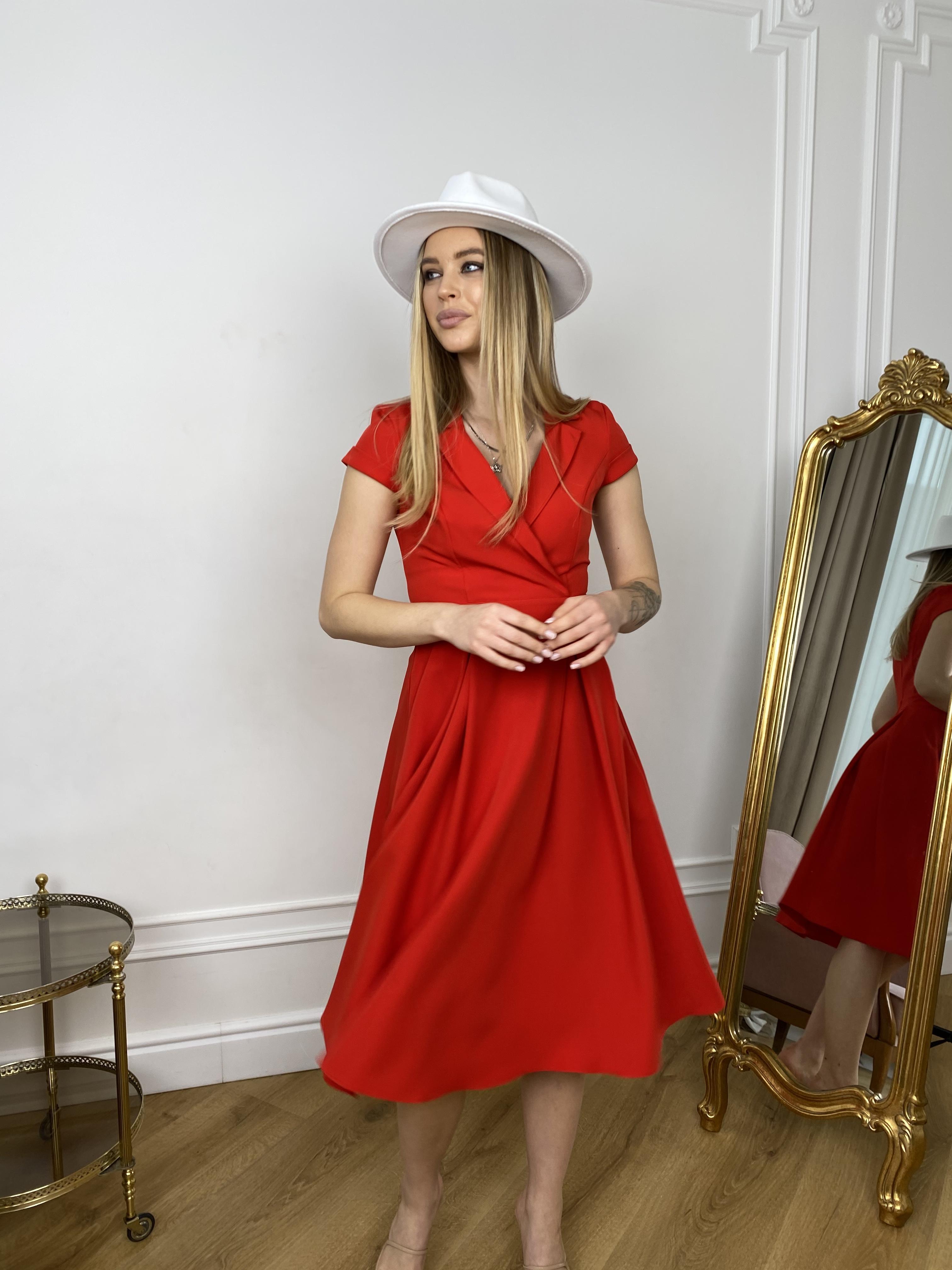 Купить платья оптом в Украине от Modus Артего платье из костюмной ткани 7441