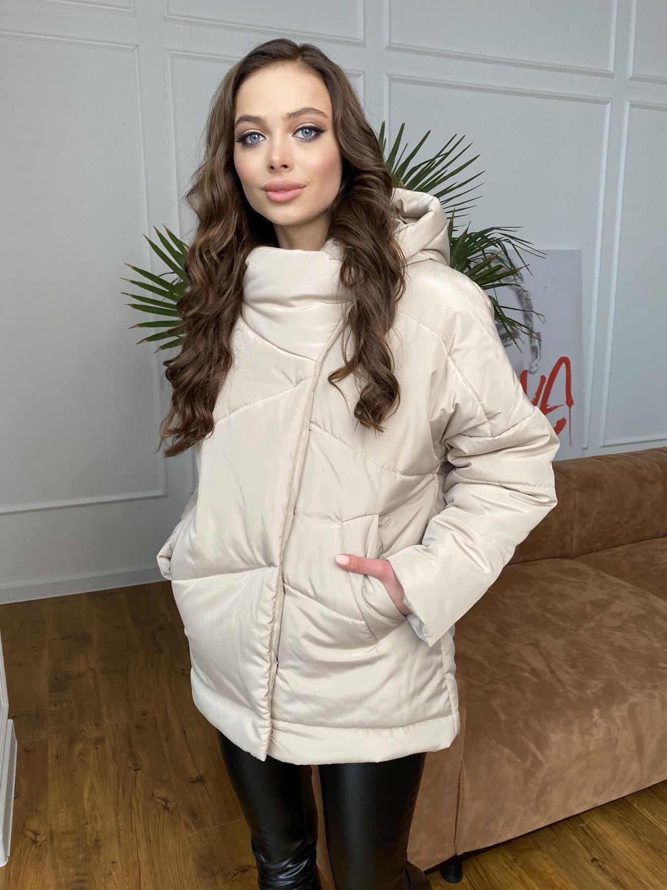 Уно куртка плащевка Ammy 10671 АРТ. 47476 Цвет: Бежевый - фото 1, интернет магазин tm-modus.ru