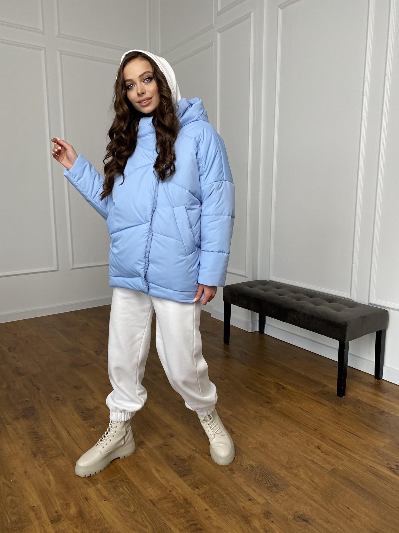 Уно куртка плащевка Ammy 10671 АРТ. 47398 Цвет: Голубой - фото 1, интернет магазин tm-modus.ru