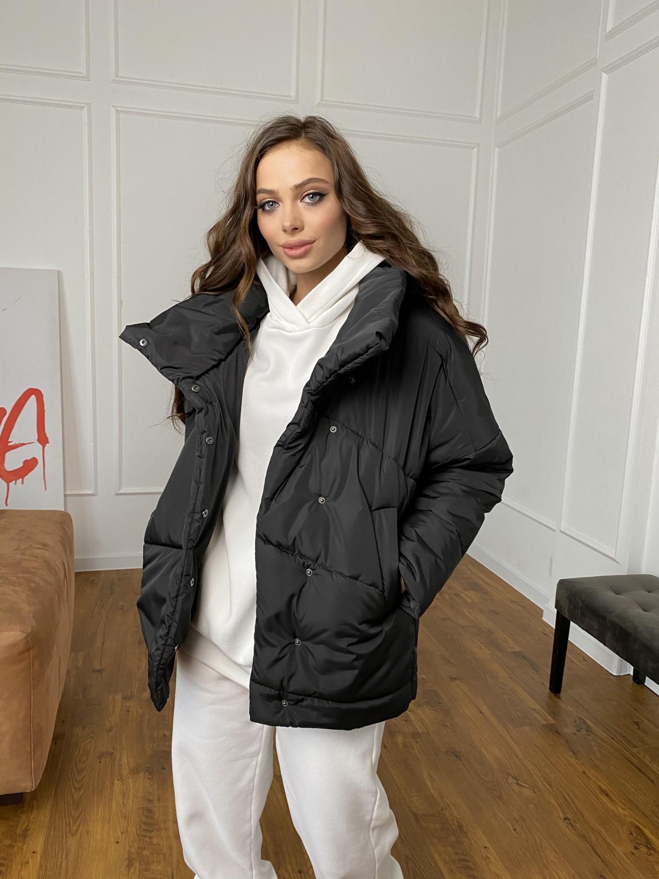 Уно куртка плащевка Ammy 10671 АРТ. 47399 Цвет: Черный - фото 11, интернет магазин tm-modus.ru