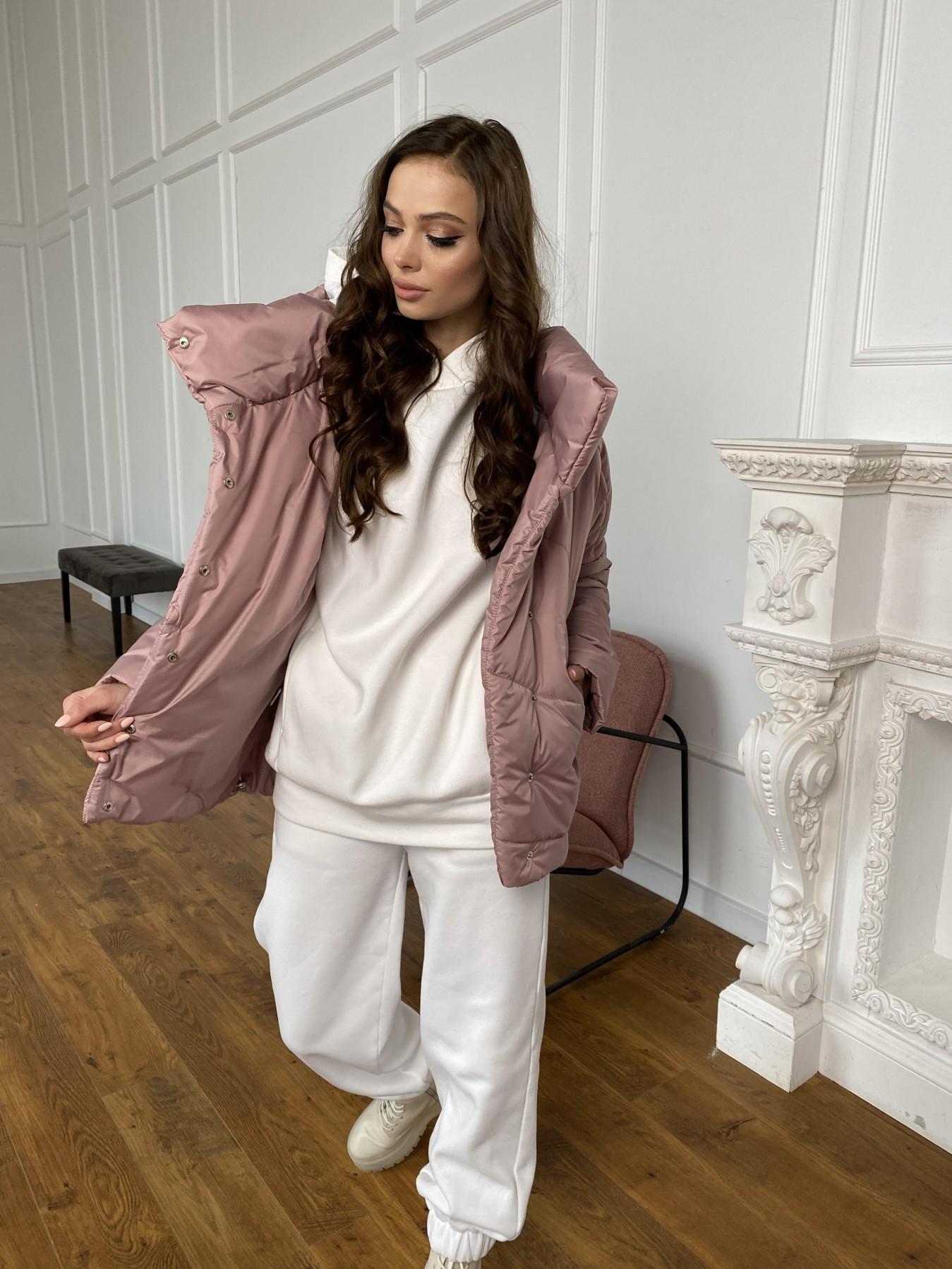 Уно куртка плащевка Ammy 10671 АРТ. 47409 Цвет: Пудра - фото 2, интернет магазин tm-modus.ru