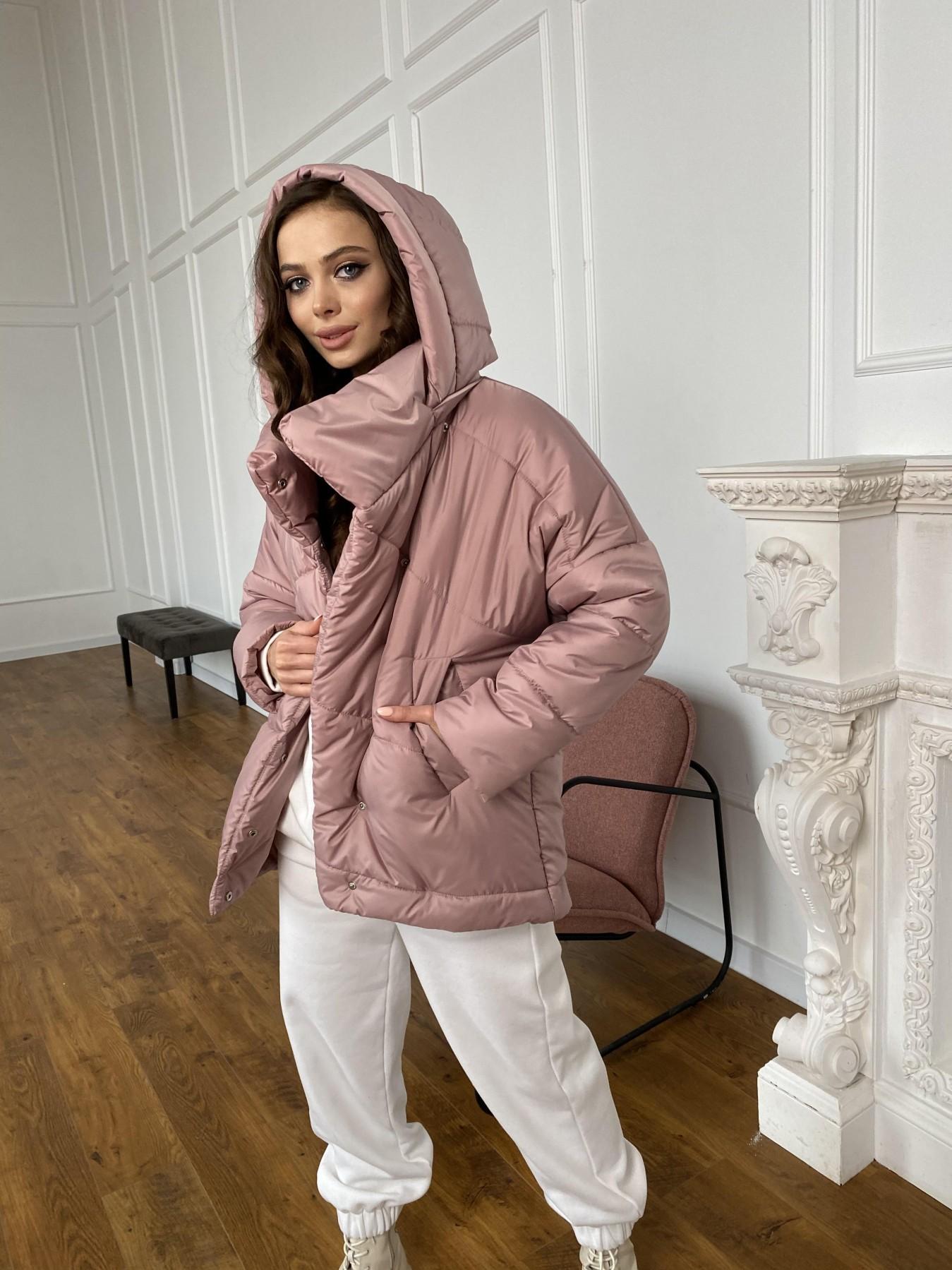 Уно куртка плащевка Ammy 10671 АРТ. 47409 Цвет: Пудра - фото 4, интернет магазин tm-modus.ru