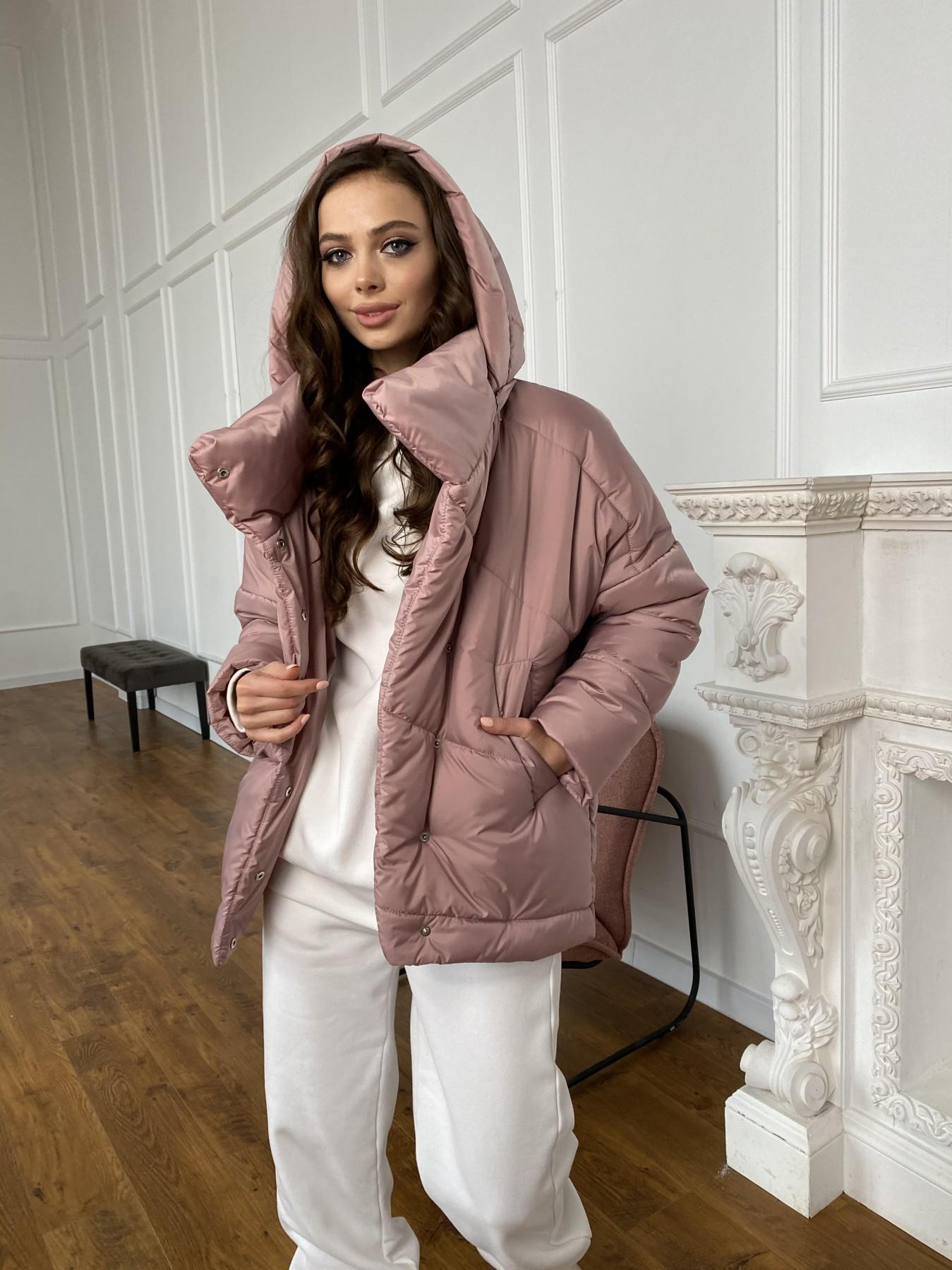 Уно куртка плащевка Ammy 10671 АРТ. 47409 Цвет: Пудра - фото 5, интернет магазин tm-modus.ru
