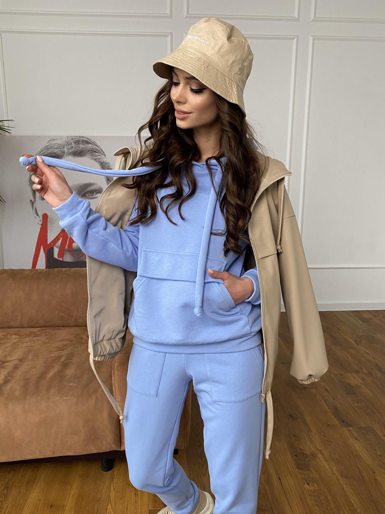 Бруклин костюм из 3х нитки  10579 АРТ. 46954 Цвет: Голубой - фото 4, интернет магазин tm-modus.ru