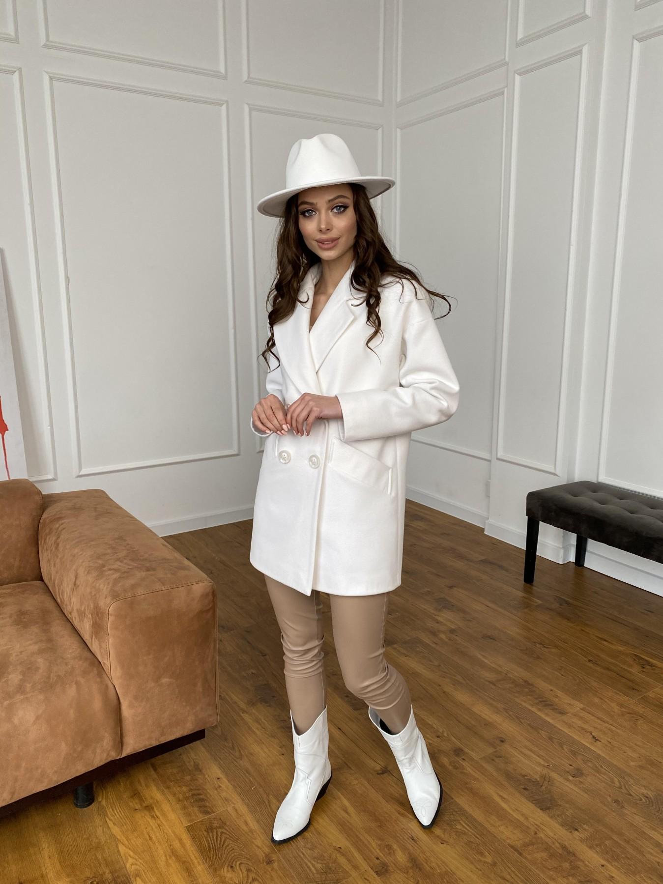 Бонд пальто из кашемира 10646 АРТ. 47495 Цвет: Молоко 1 - фото 6, интернет магазин tm-modus.ru
