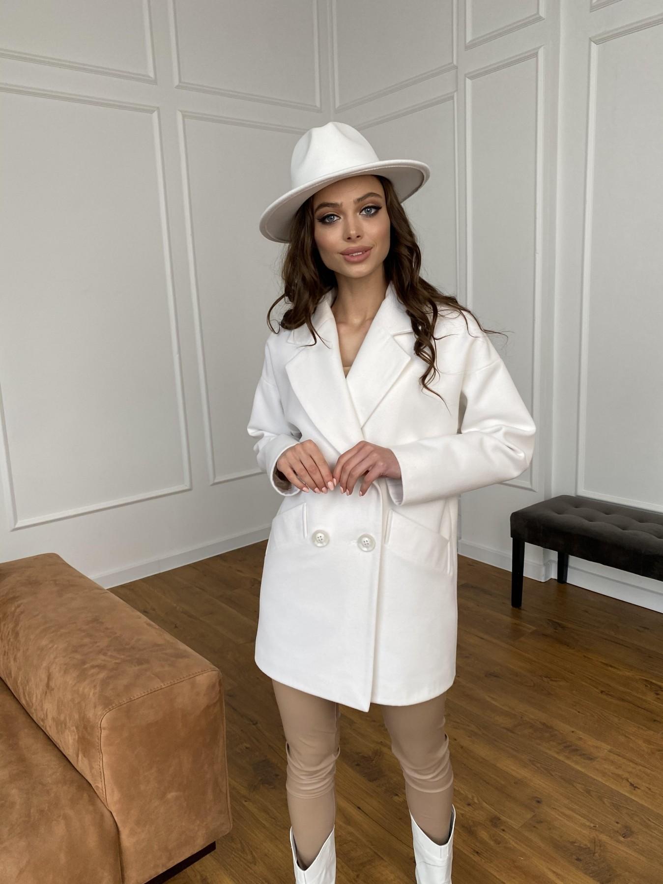 Бонд пальто из кашемира 10646 АРТ. 47495 Цвет: Молоко 1 - фото 8, интернет магазин tm-modus.ru