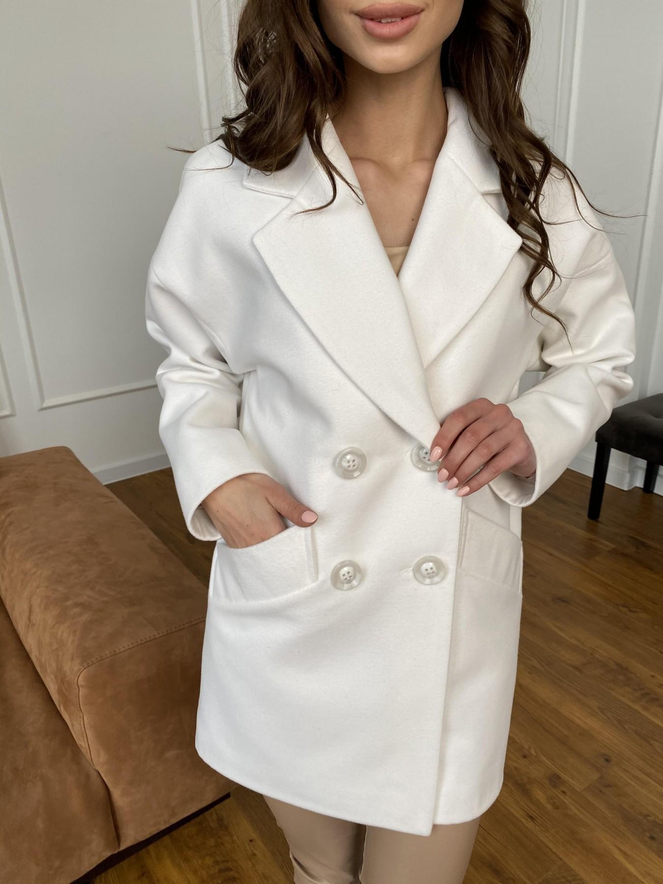 Бонд пальто из кашемира 10646 АРТ. 47495 Цвет: Молоко 1 - фото 11, интернет магазин tm-modus.ru