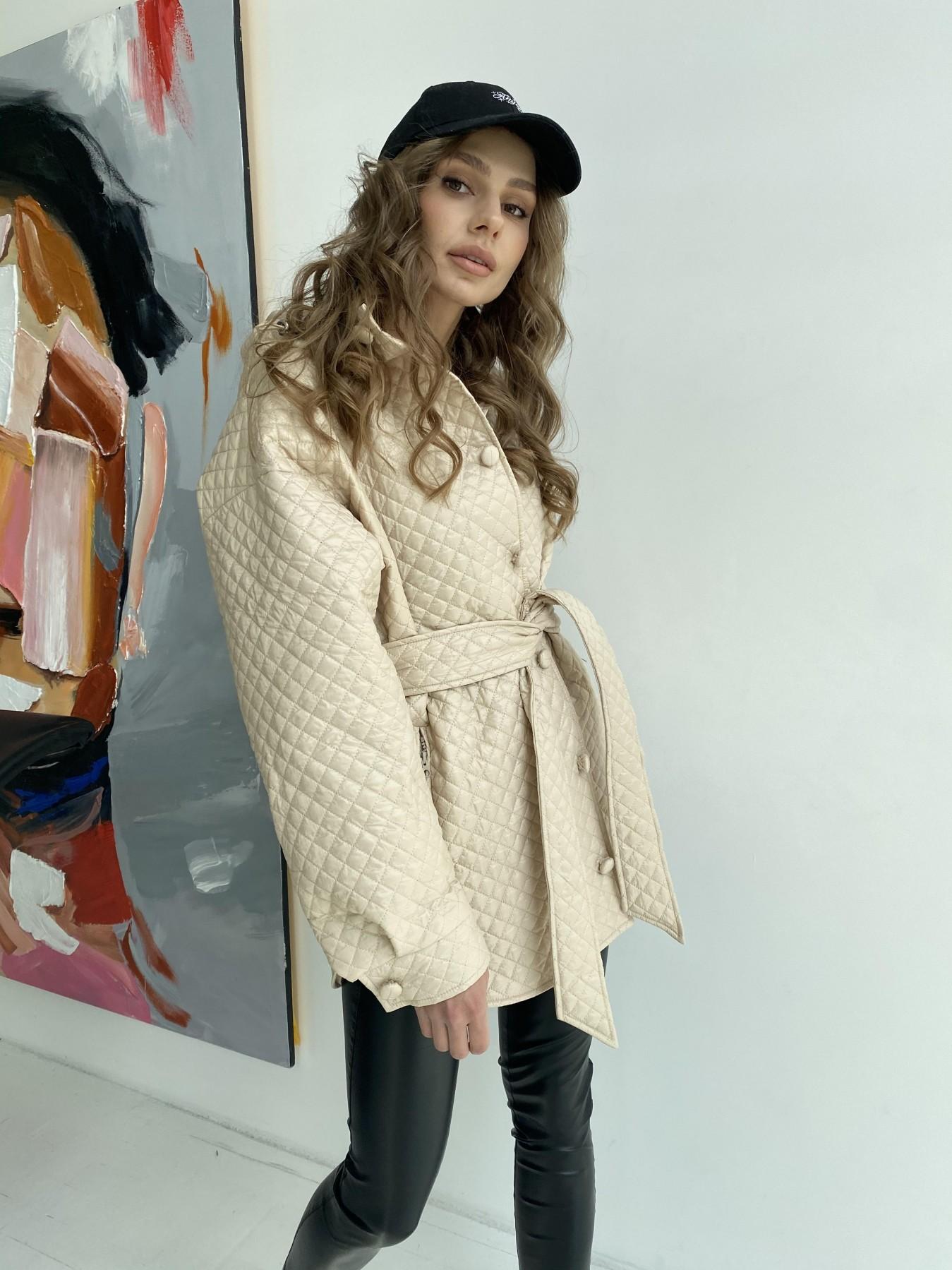 куртки оптом Харьков Пазл стеганая куртка из плащевой ткани  10933
