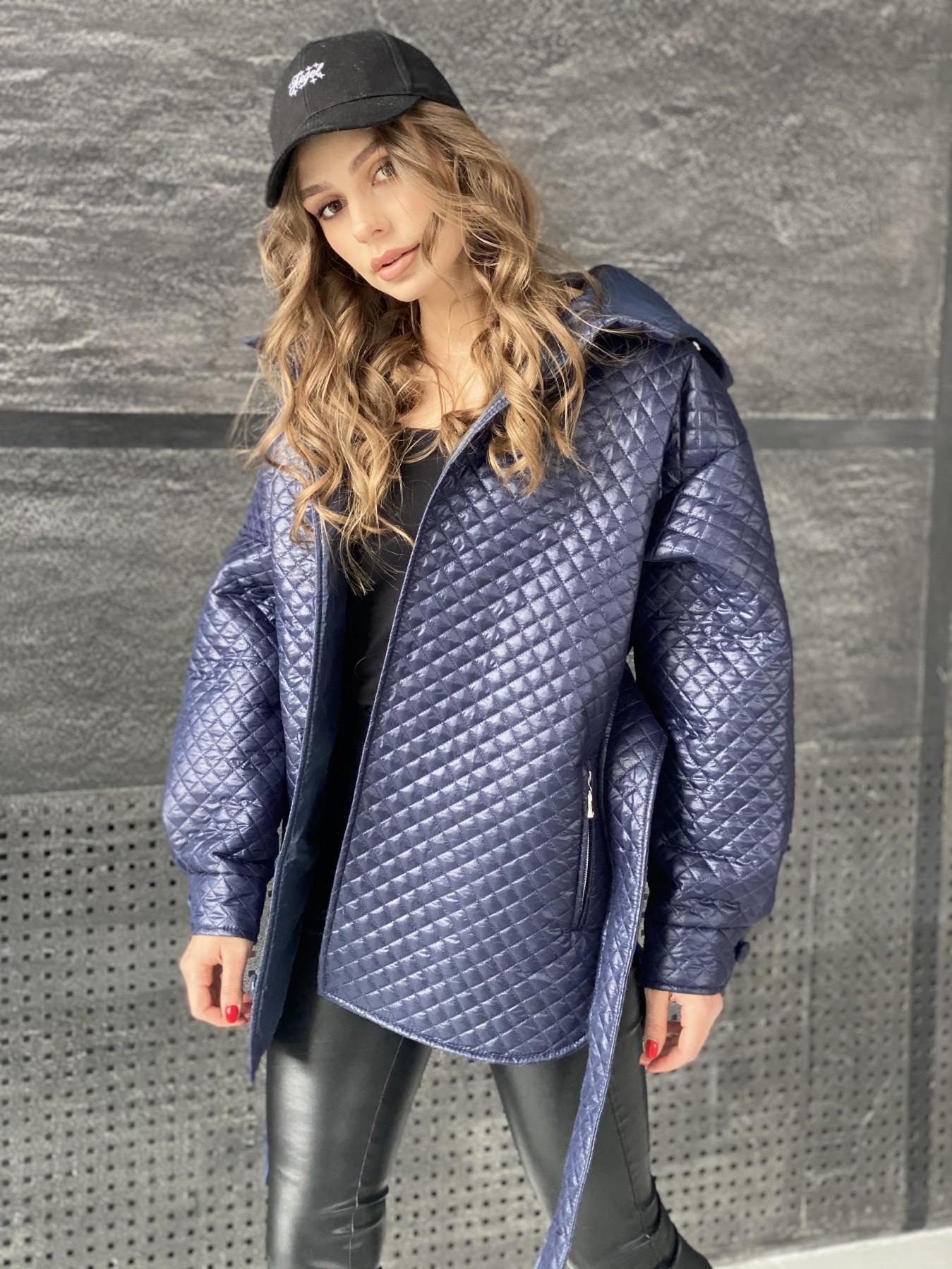 купить куртки женские Пазл стеганая куртка из плащевой ткани  10933