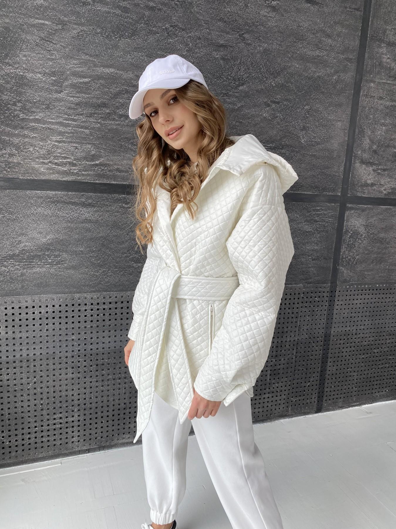 куртки оптом Украина  Пазл стеганая куртка из плащевой ткани  10933