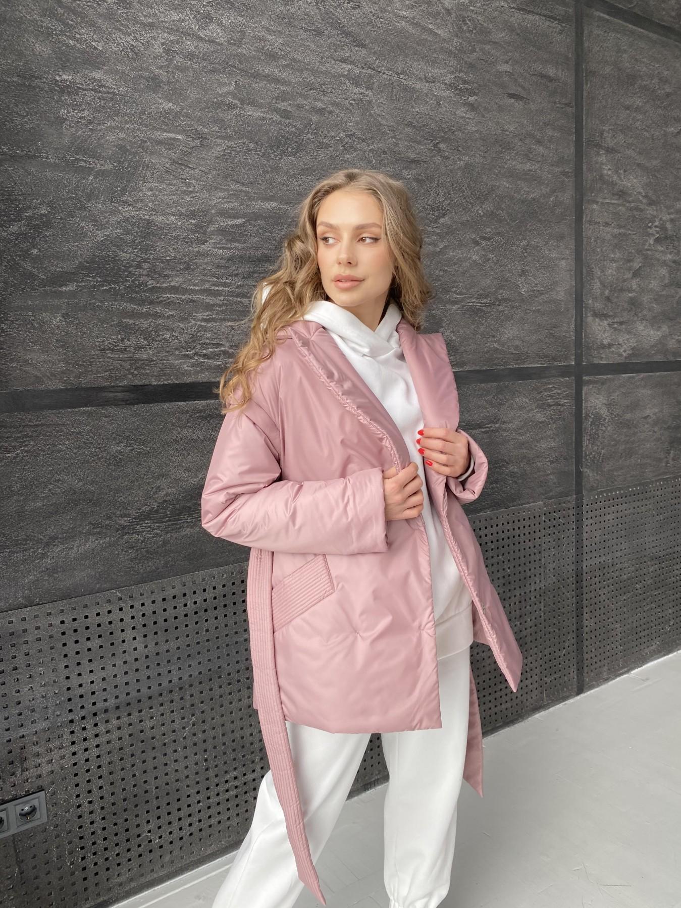 Форбс куртка из плащевой ткани 10986 АРТ. 47477 Цвет: Пудра - фото 2, интернет магазин tm-modus.ru