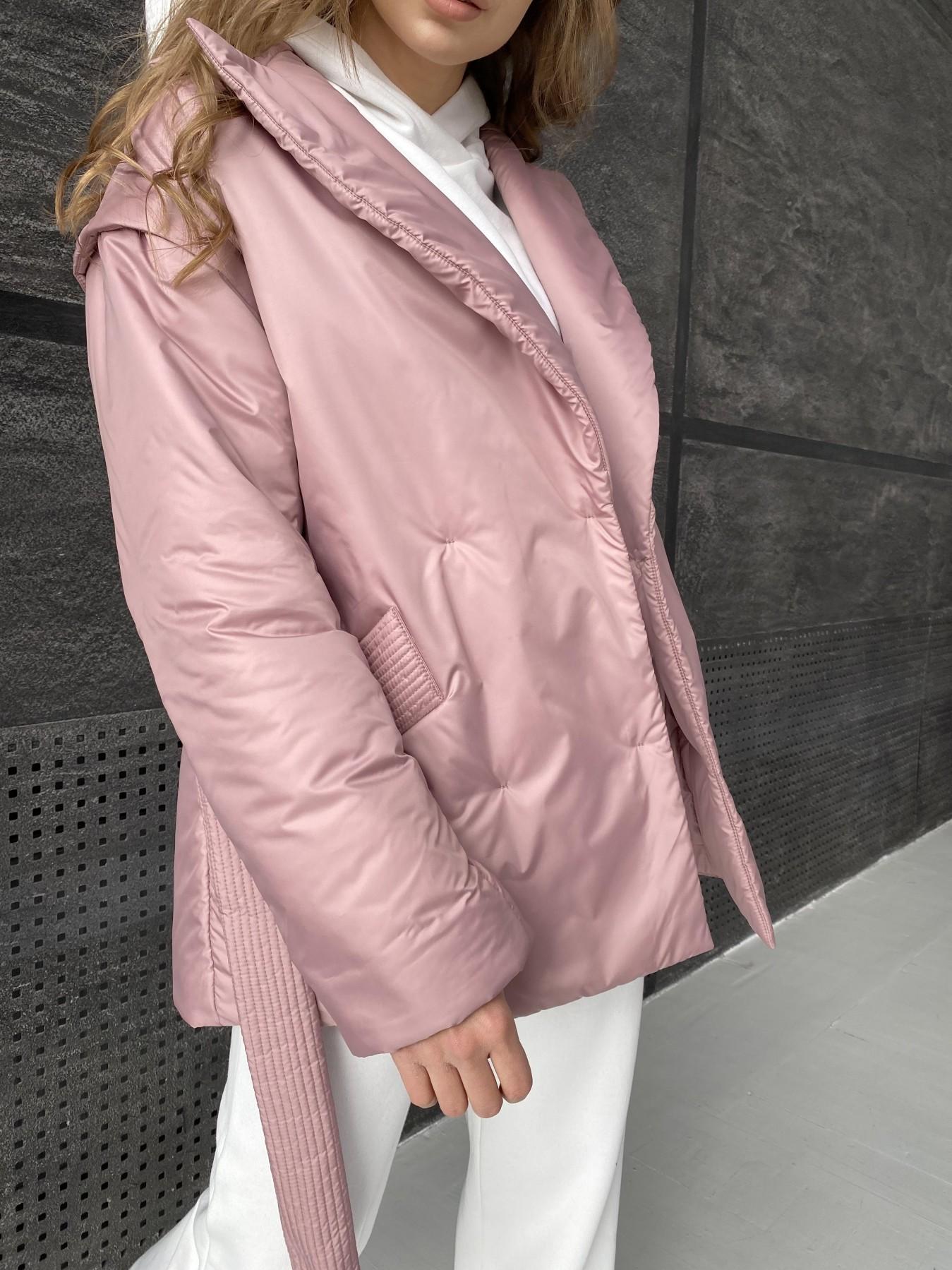 Форбс куртка из плащевой ткани 10986 АРТ. 47477 Цвет: Пудра - фото 9, интернет магазин tm-modus.ru