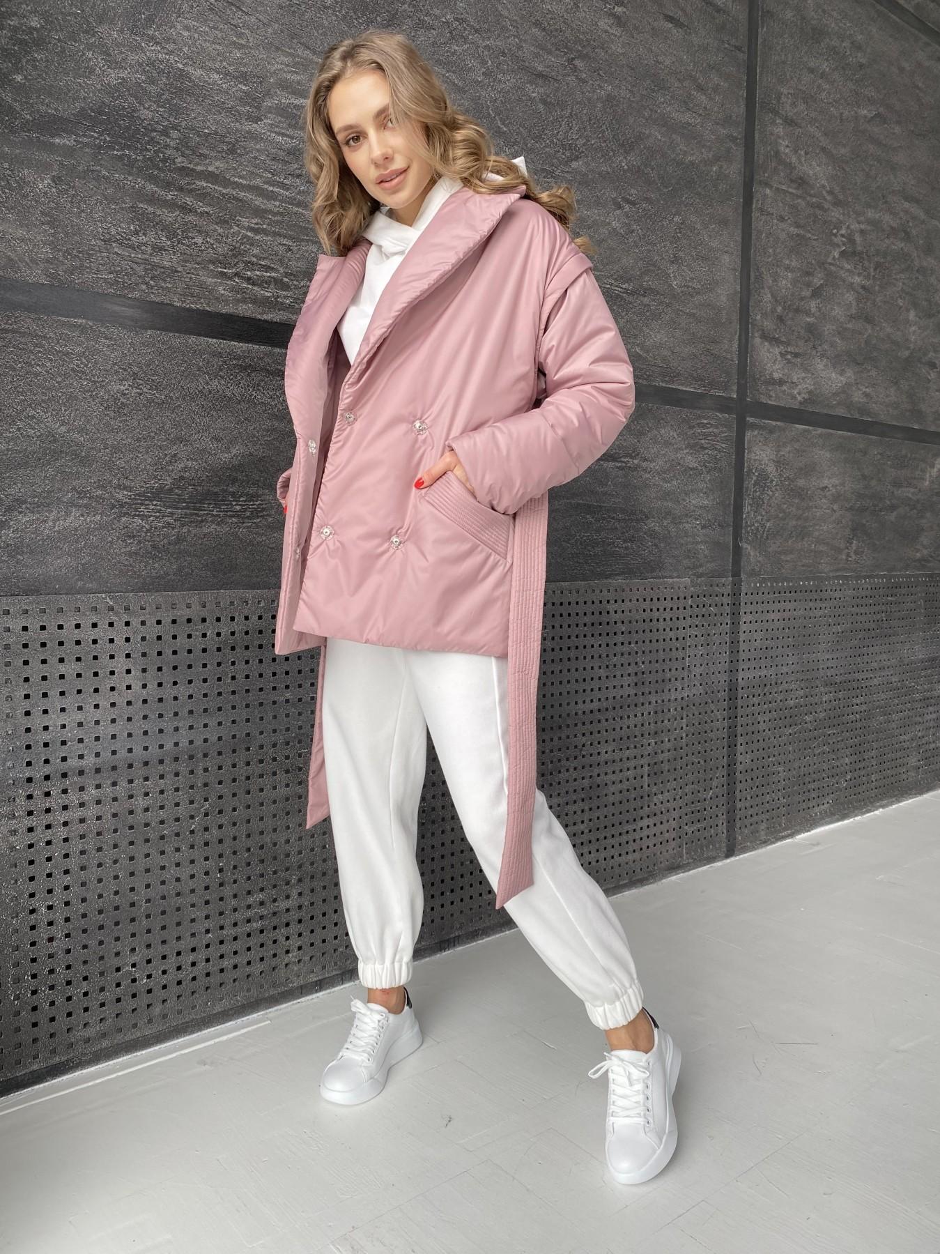 Форбс куртка из плащевой ткани 10986 АРТ. 47477 Цвет: Пудра - фото 10, интернет магазин tm-modus.ru