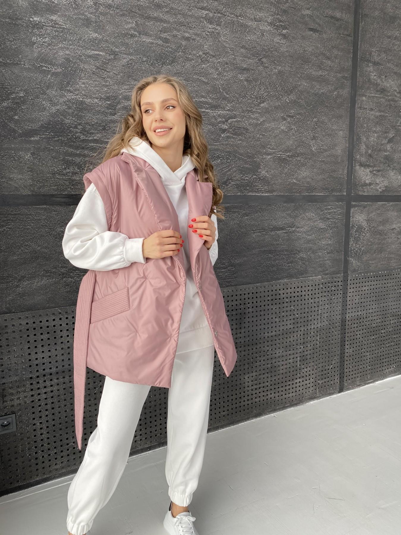 Форбс куртка из плащевой ткани 10986 АРТ. 47477 Цвет: Пудра - фото 13, интернет магазин tm-modus.ru