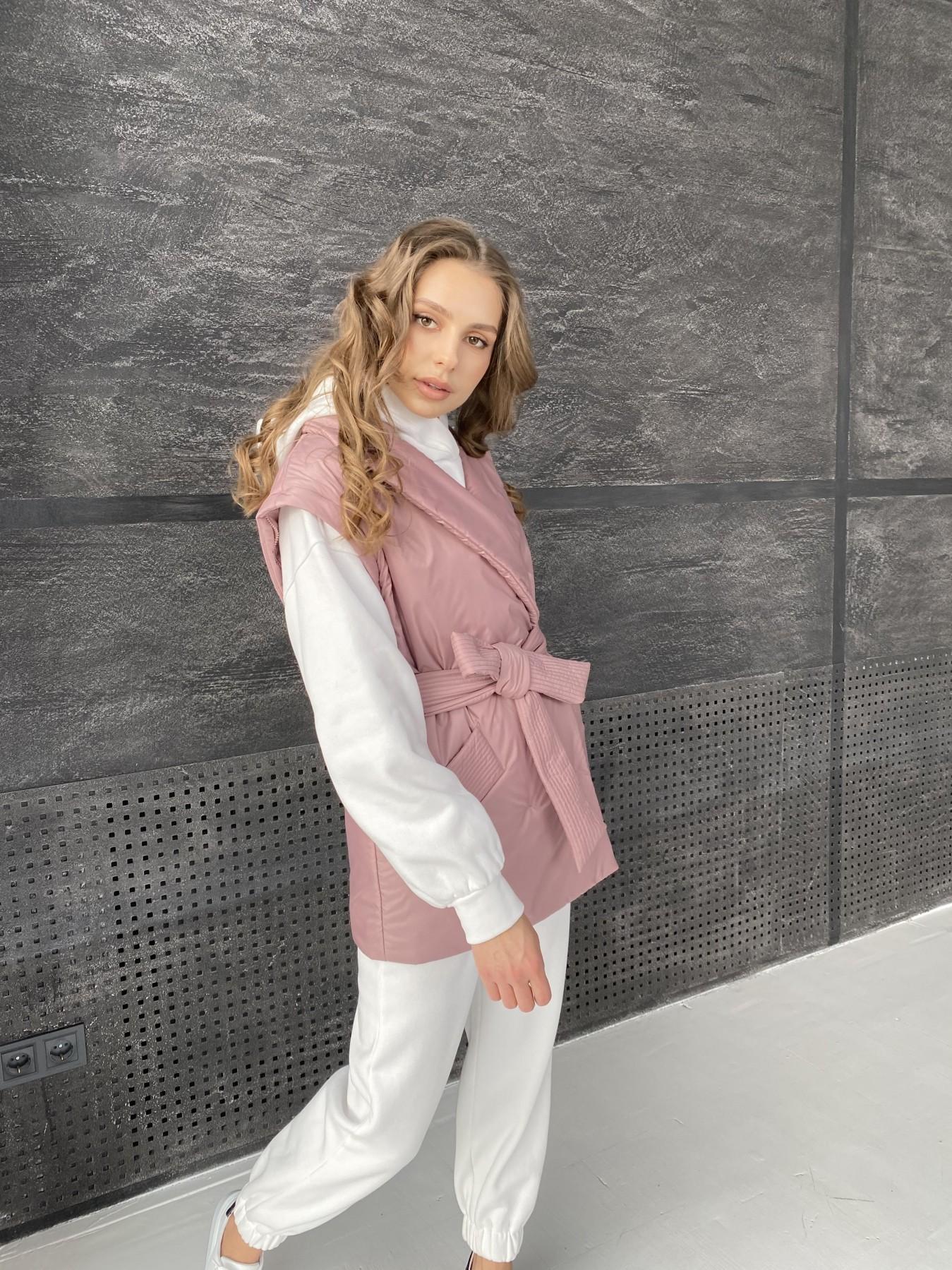 Форбс куртка из плащевой ткани 10986 АРТ. 47477 Цвет: Пудра - фото 14, интернет магазин tm-modus.ru