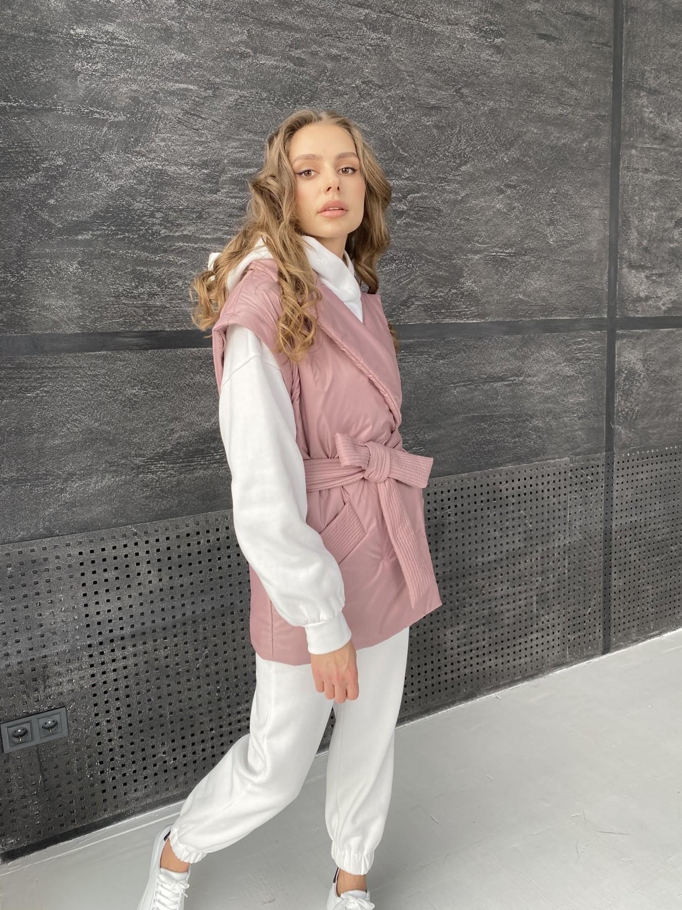 Форбс куртка из плащевой ткани 10986 АРТ. 47477 Цвет: Пудра - фото 15, интернет магазин tm-modus.ru