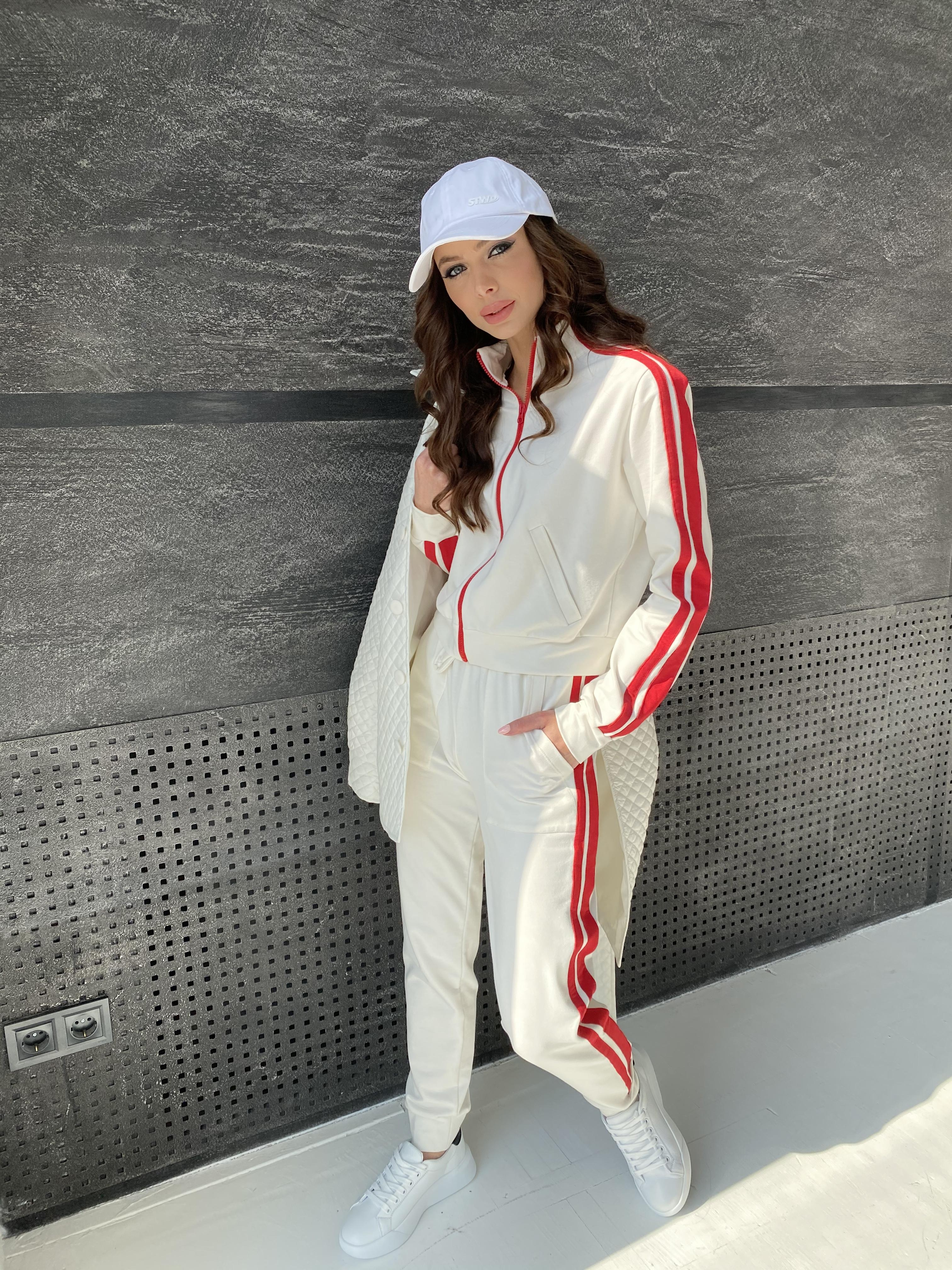 Купить женскую одежду оптом Камон костюм трикотажный из двунитки  9333