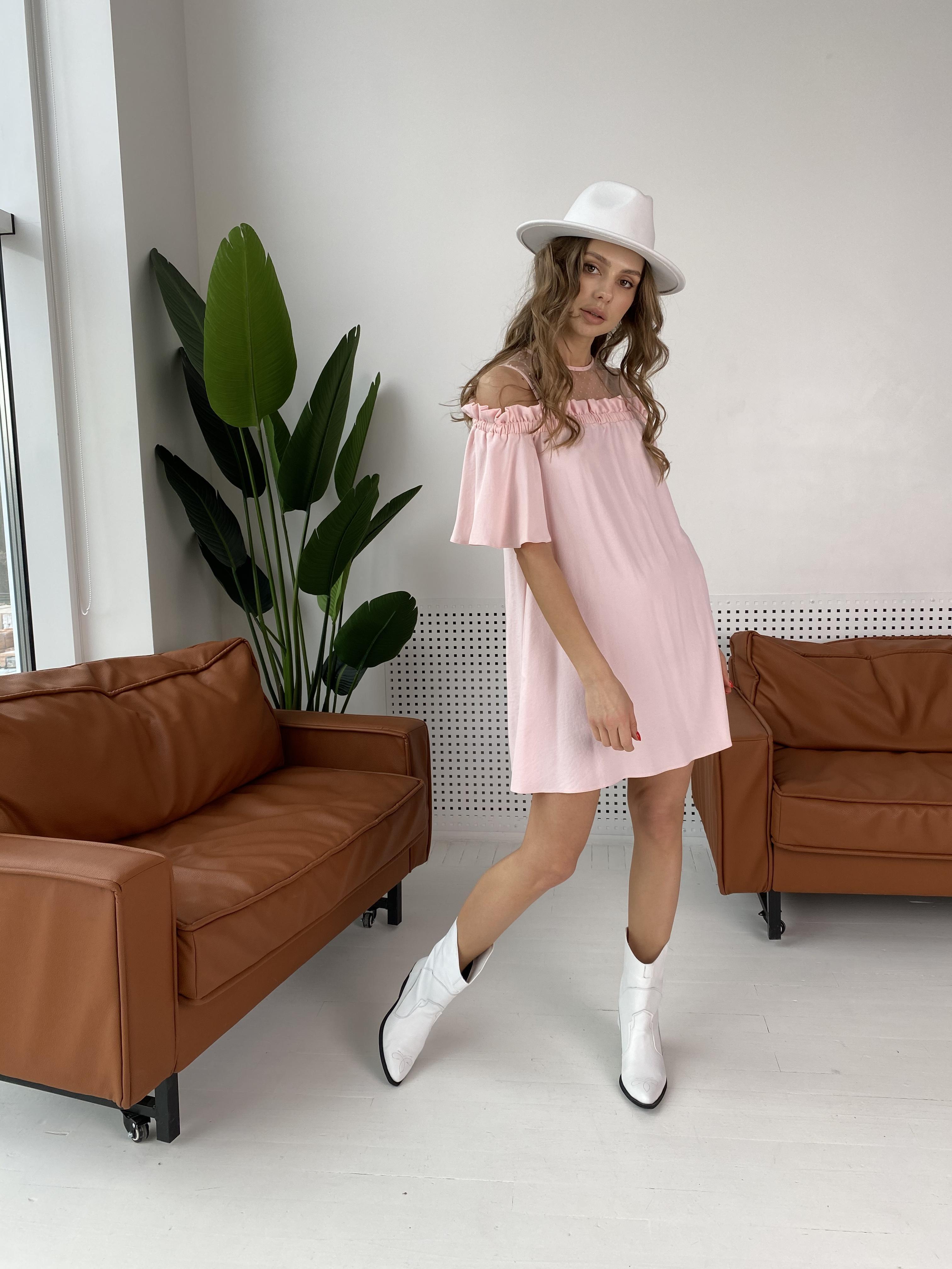 Молена платье  7192 АРТ. 42752 Цвет: Розовый Светлый 8 - фото 1, интернет магазин tm-modus.ru