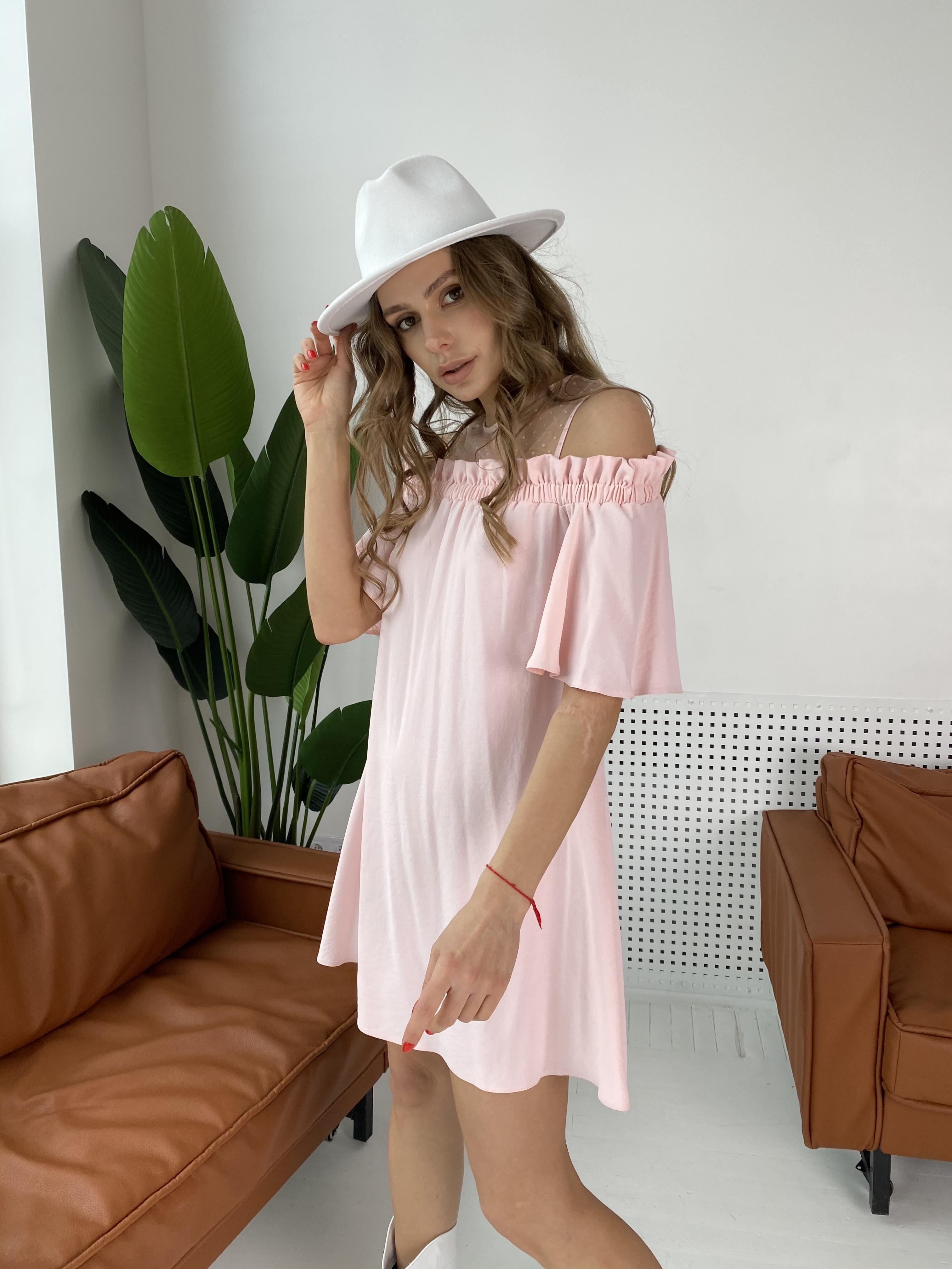 Молена платье  7192 АРТ. 42752 Цвет: Розовый Светлый 8 - фото 3, интернет магазин tm-modus.ru