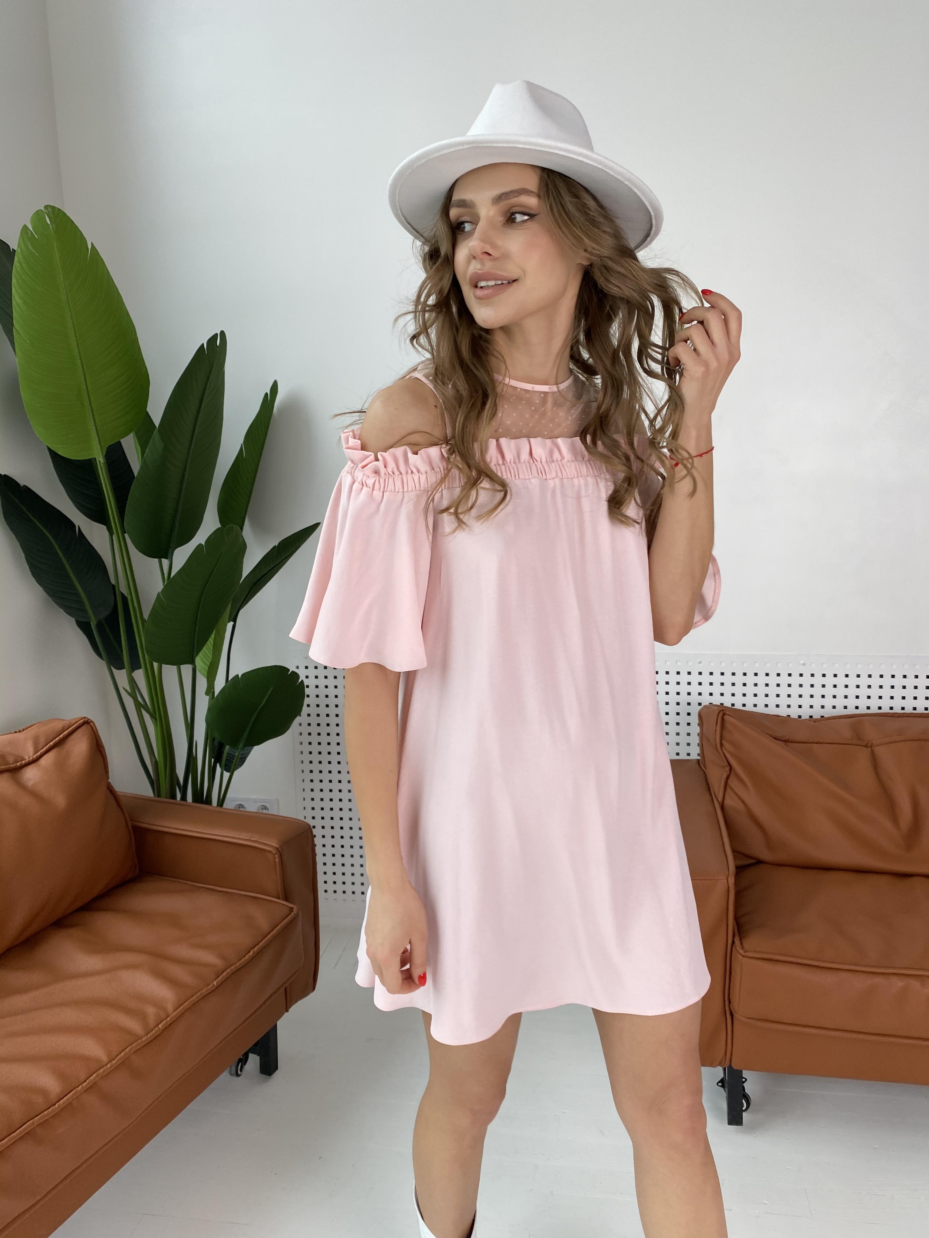 Молена платье  7192 АРТ. 42752 Цвет: Розовый Светлый 8 - фото 5, интернет магазин tm-modus.ru